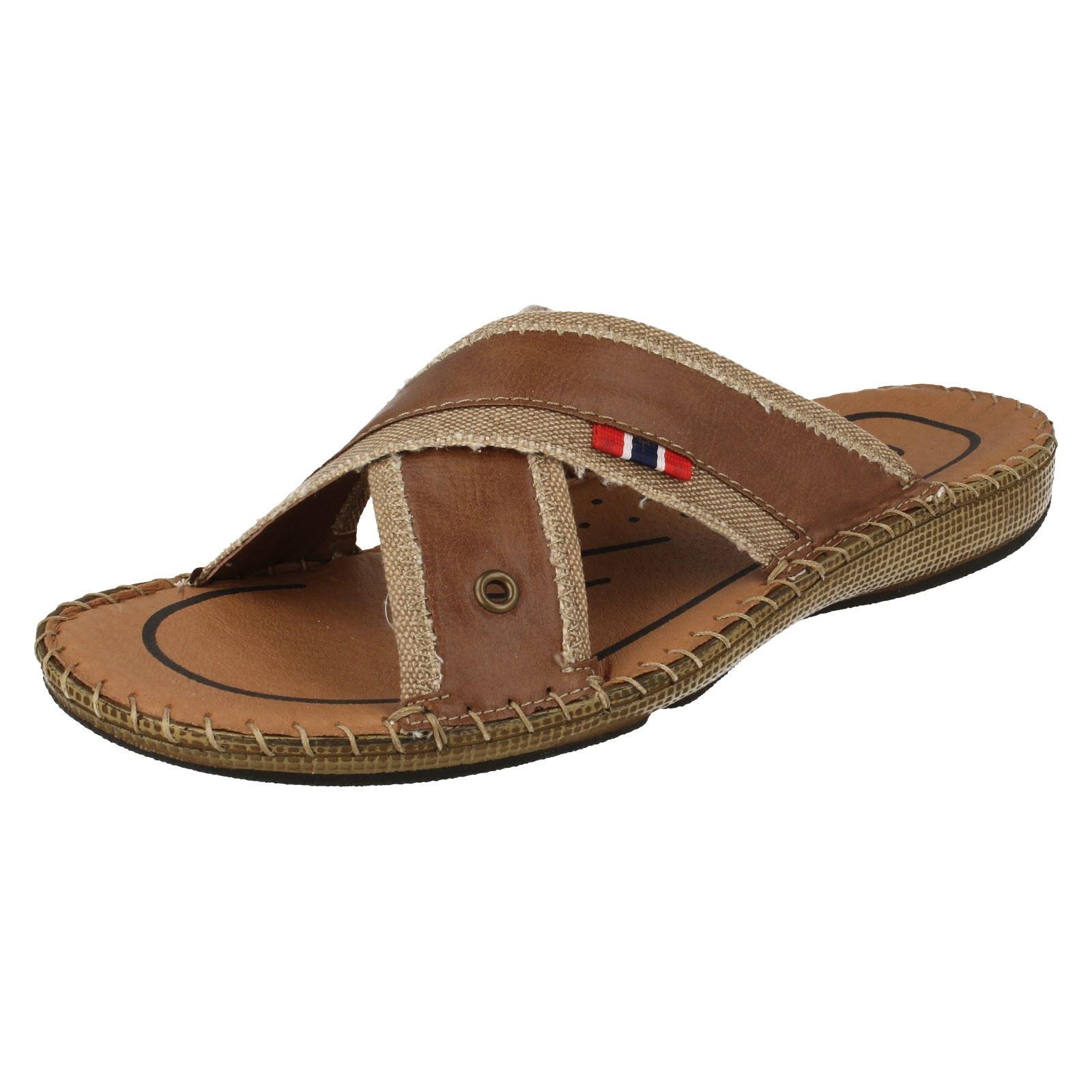 Details about Rieker Mens Slip On Sandals 20554
