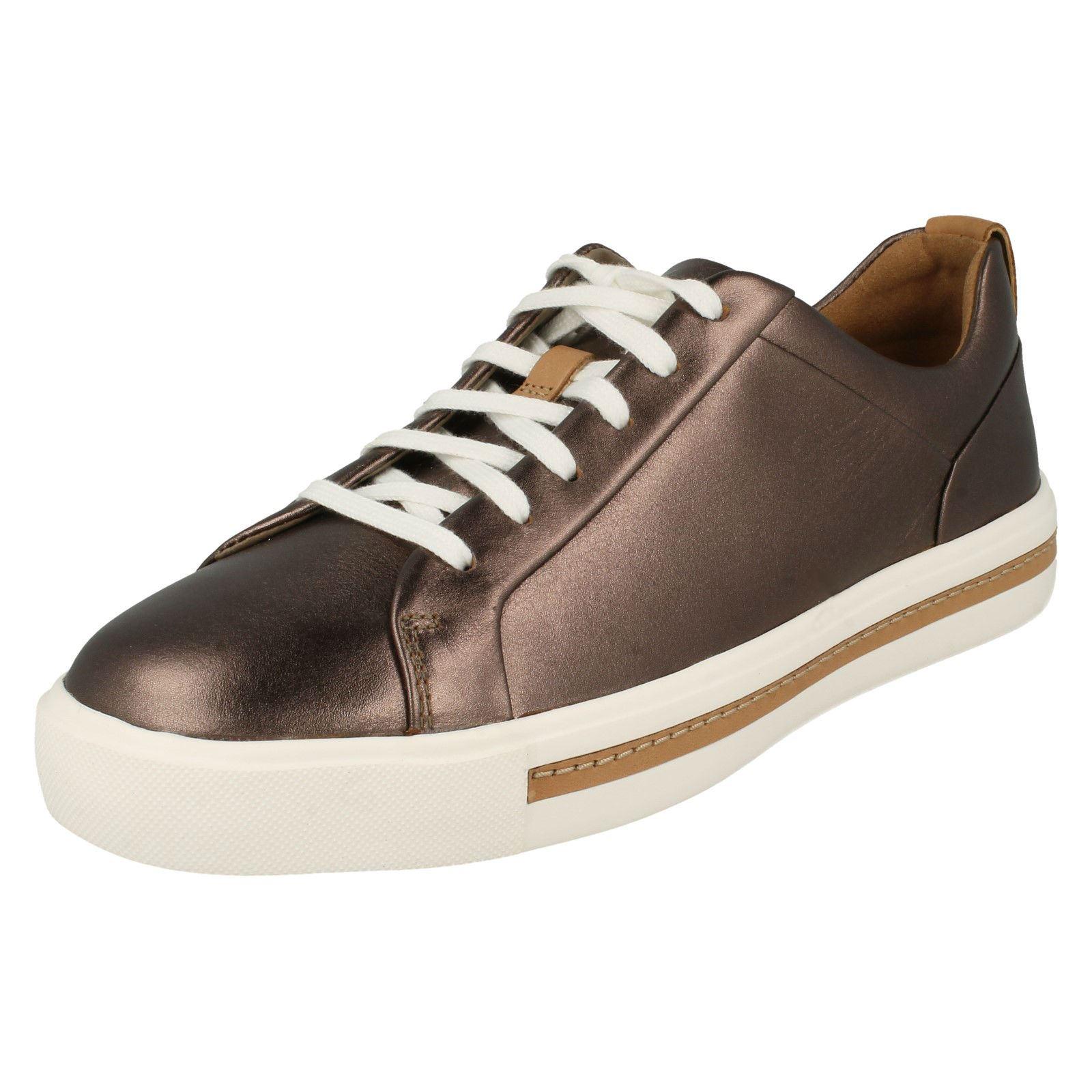 'Ladies Clarks' Clarks' Clarks' Casual lace Up shoes - Un Maui Lace 410b00