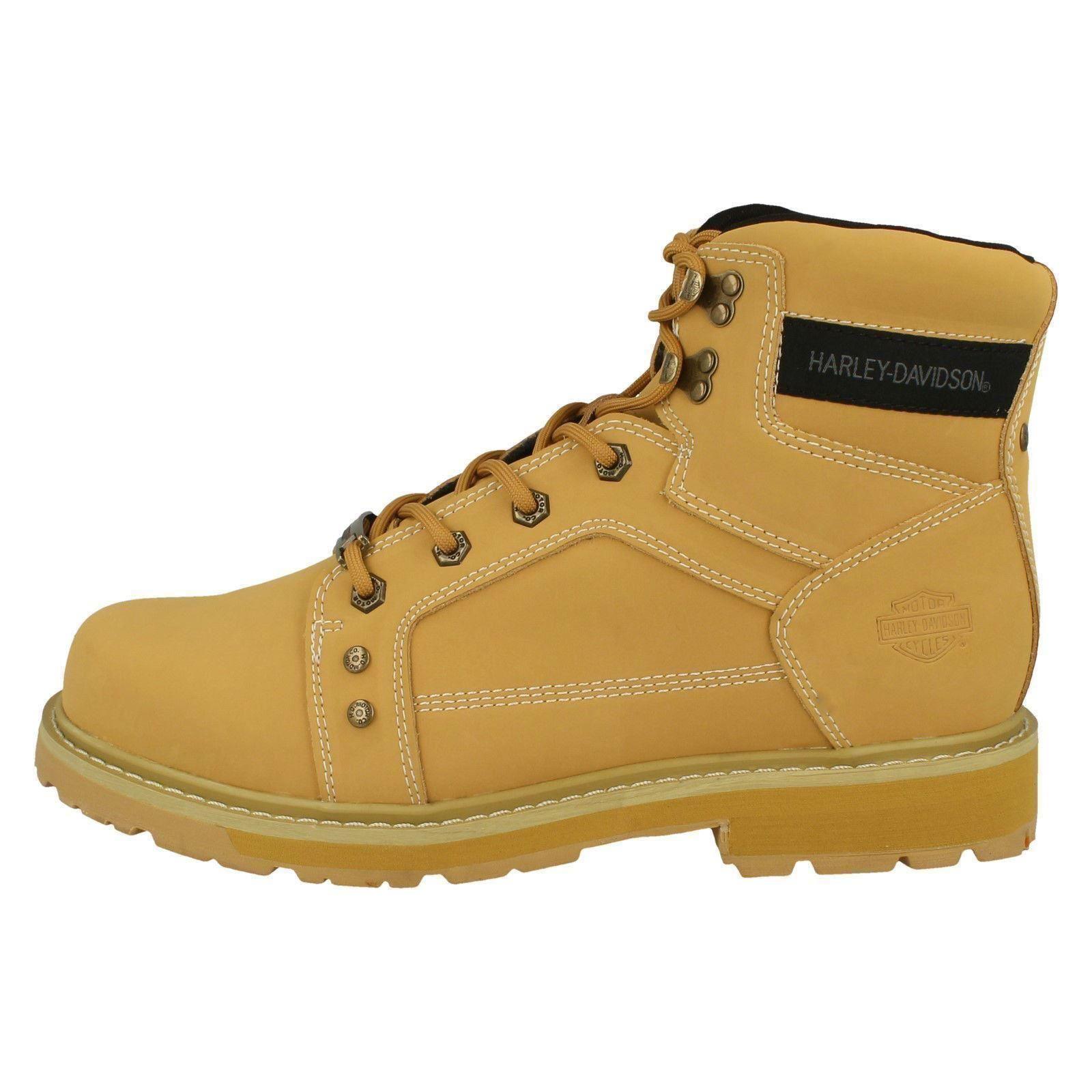 Mens Harley Davidson Stylish 'Keating Ankle Boots 'Keating Stylish D93379' 9bdbab