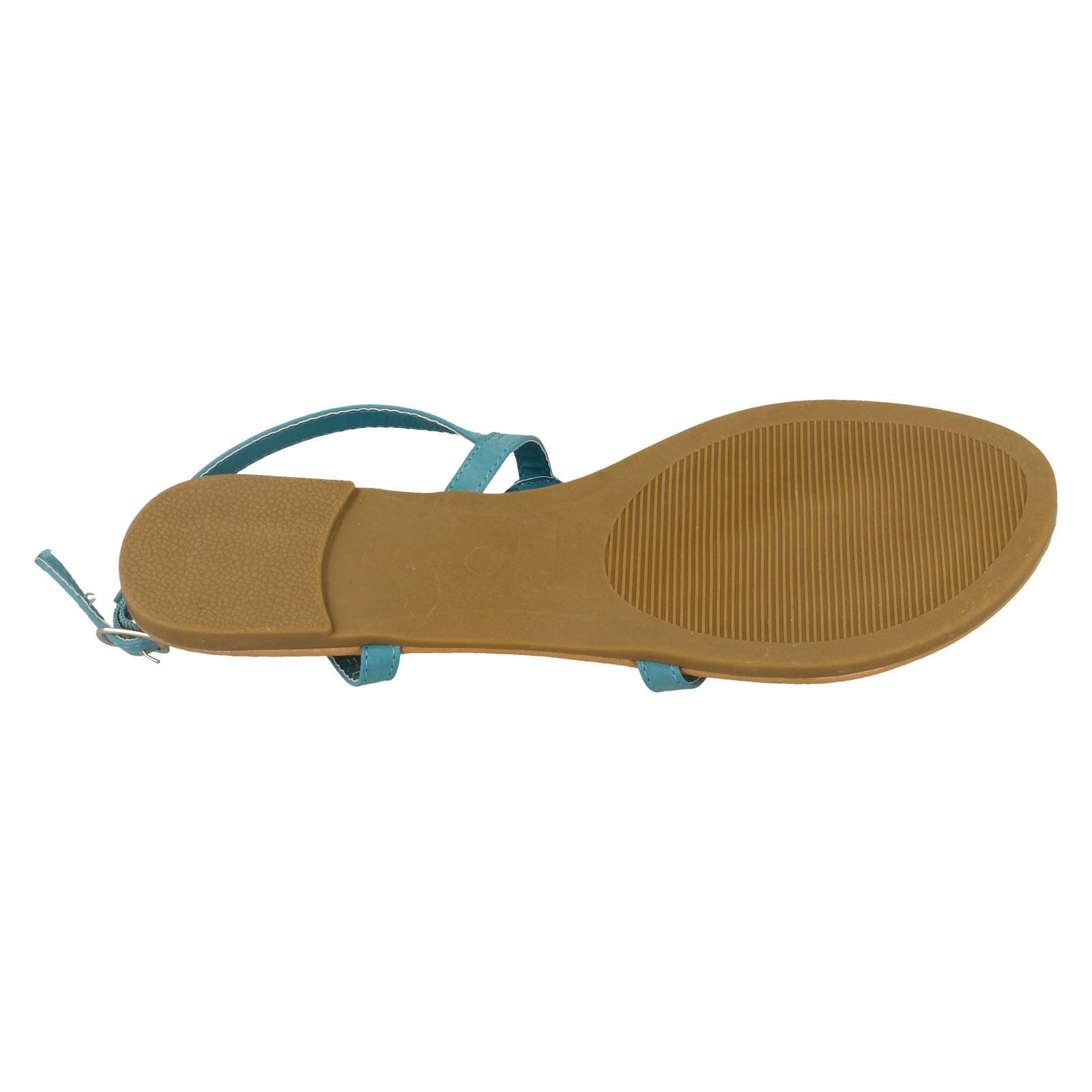 Spot-On-Donna-Open-Toe-Paillettes-Ondulato-Sandali miniatura 12
