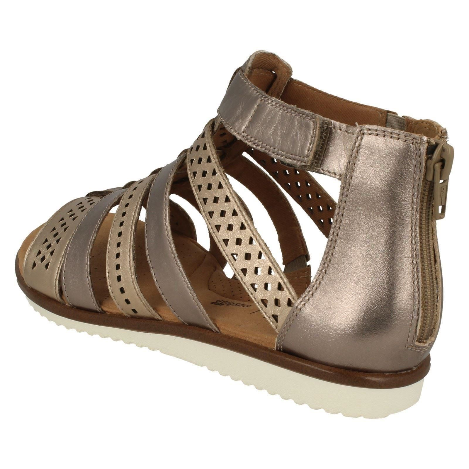 af93d1154802 Ladies-Clarks-Kele-Lotus-Gladiator-Sandals thumbnail 4