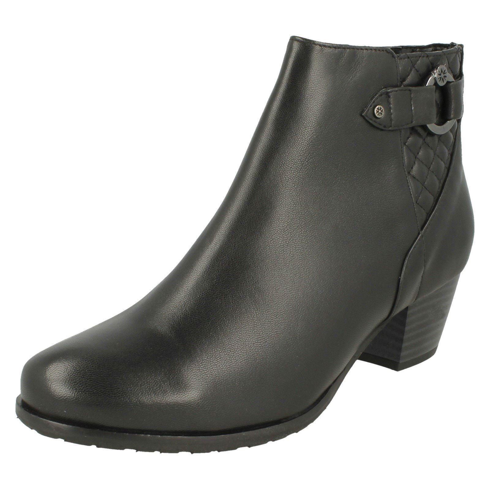 Van Dal Ladies Ladies Ladies Low Heeled Ankle Boot Tawny 422597
