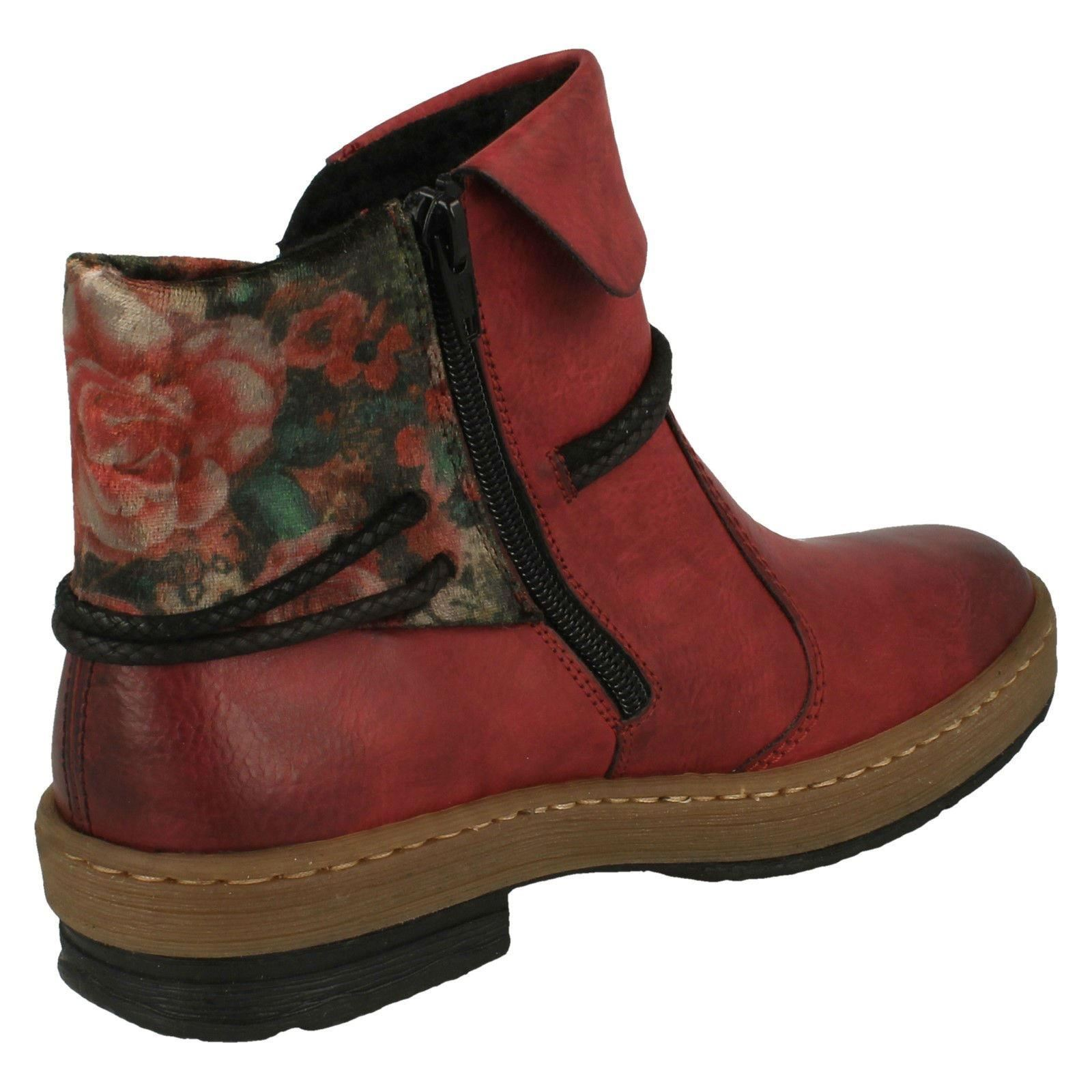 'Ladies Rieker' Rieker' Rieker' Casual Ankle Boots - Z6771 68b2d2