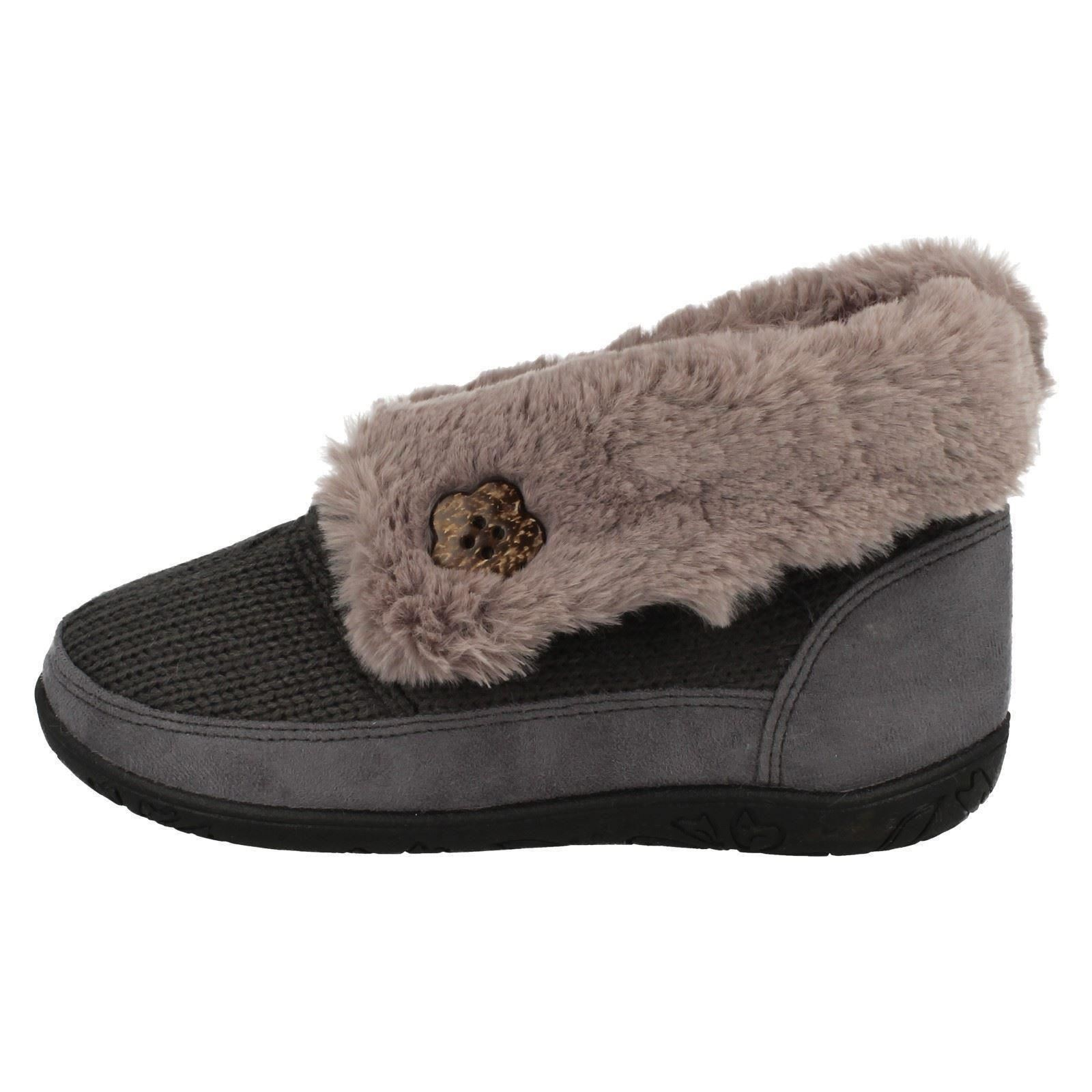 d0f45adf7e Details about Ladies Padders Memory Foam Casual Boot Slippers Eden