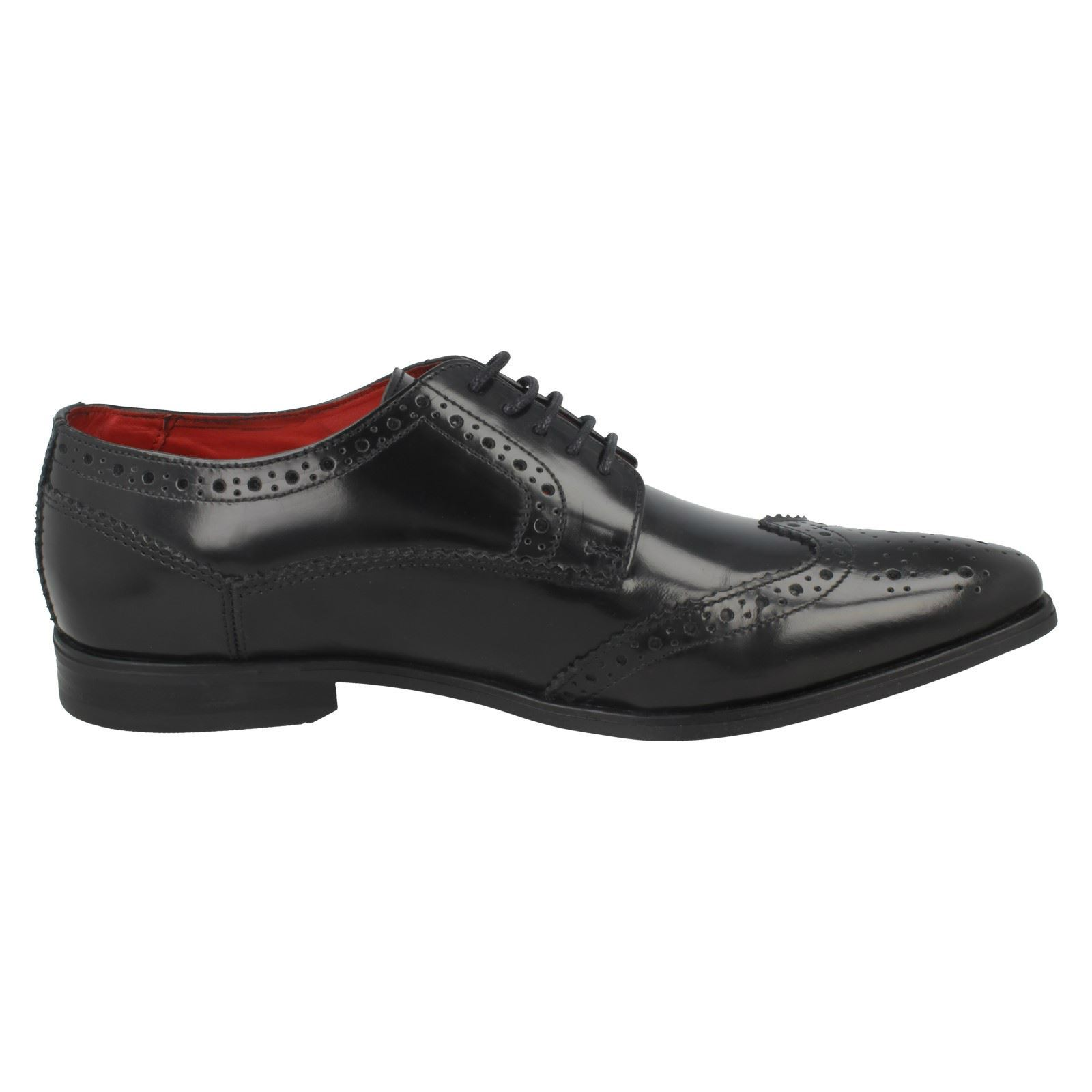 Mens London Base London Mens Harold Lace Up Brogues 07de38