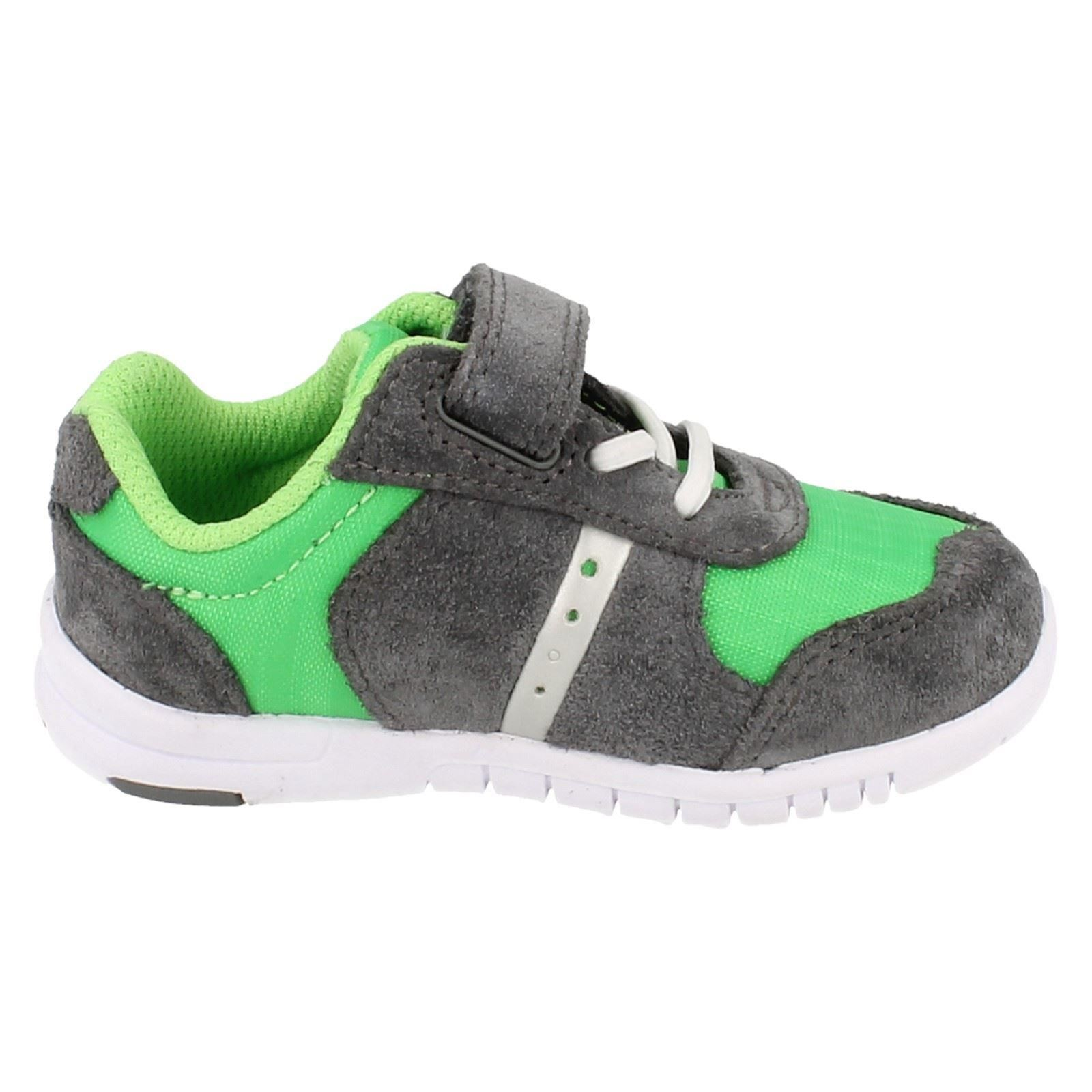 Azon Flex Clarks Casual Chicos Trainers Green S7qwFO7n