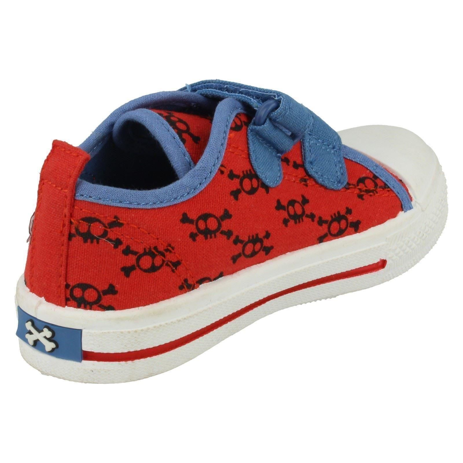 Boys Disney Jake and the Never Land Pirates Crossbone Canvas Shoe