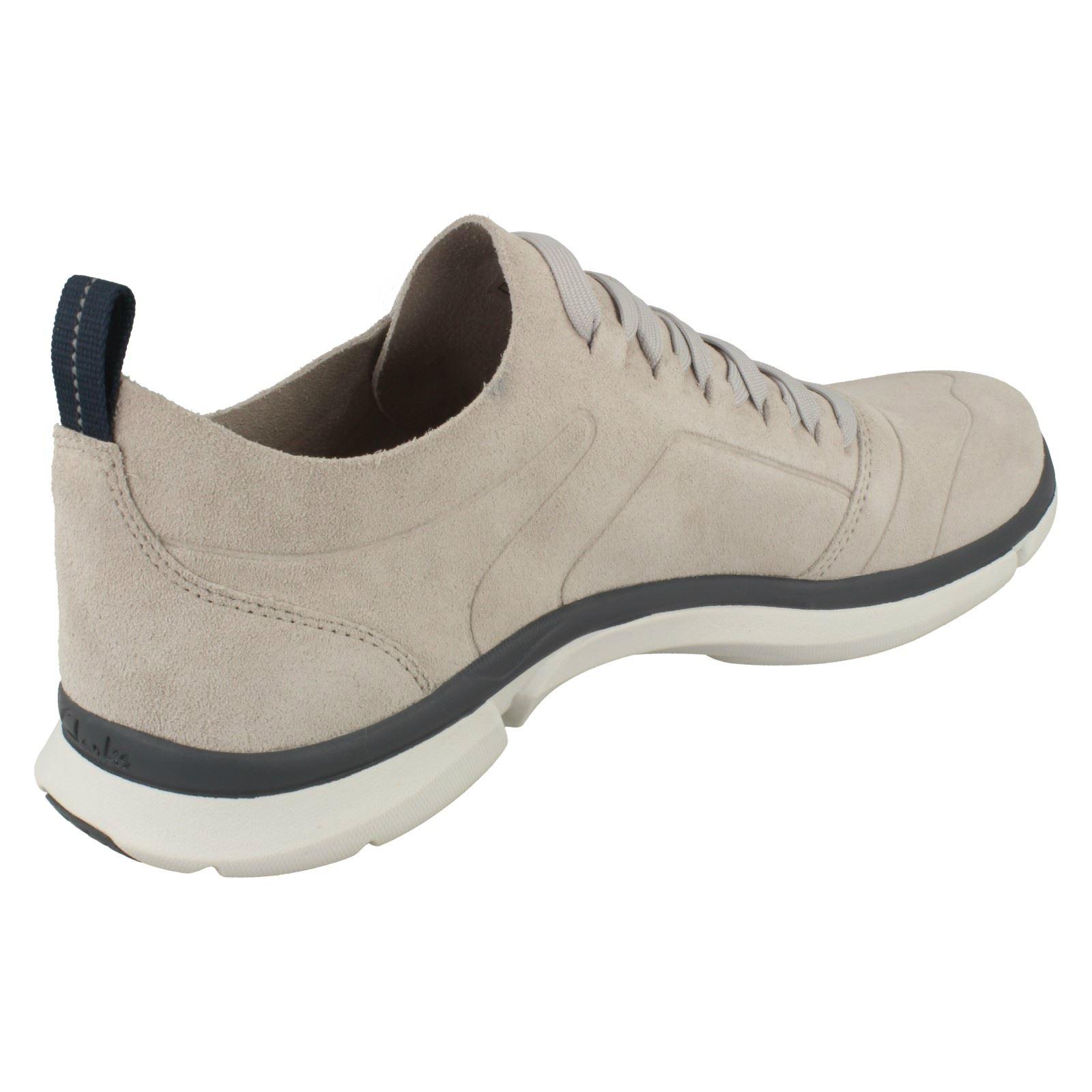 de triken Clarks claro gris casuales hombre zapatos gris encaje para U4qA65wq