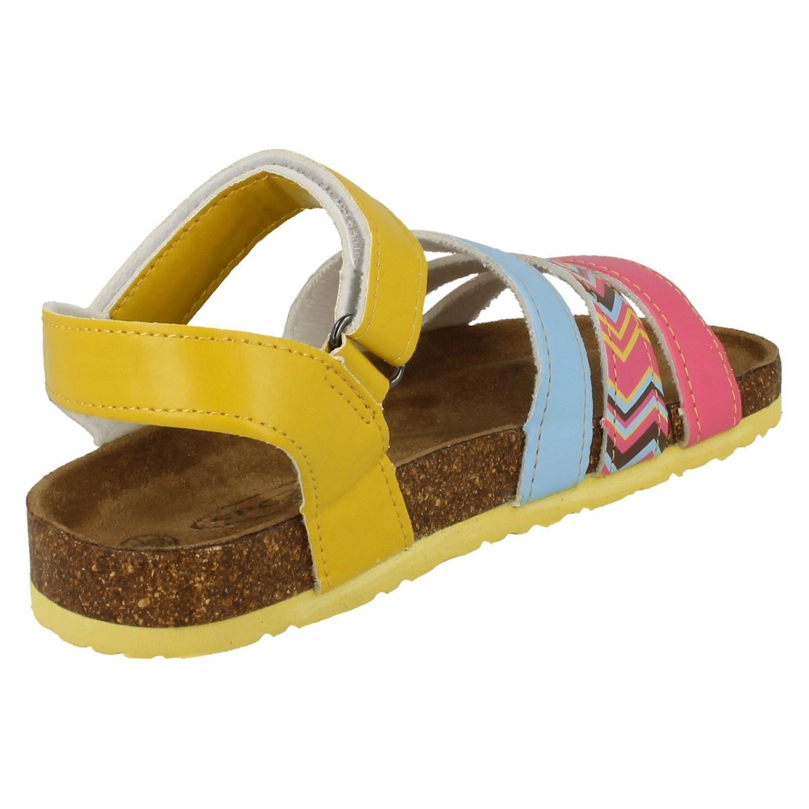 Girls Spot On Casual Ankle Strap *Sandals*