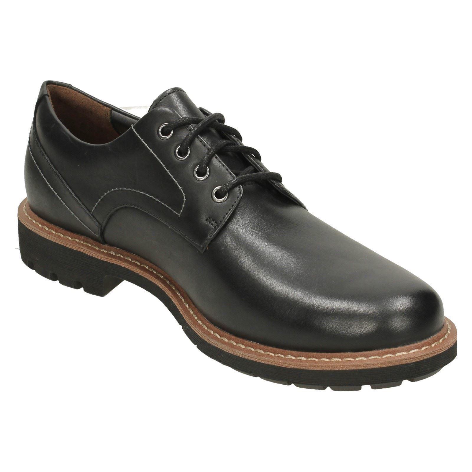 Leder Herren Clarks Smart Lace Up Leder  Schuhes Batcombe Hall 7db2c0