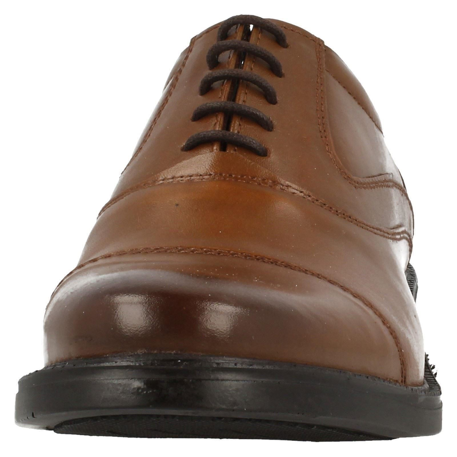 Details about Mens Hush-Puppies Formal Oxford Shoes Rockford Oxford