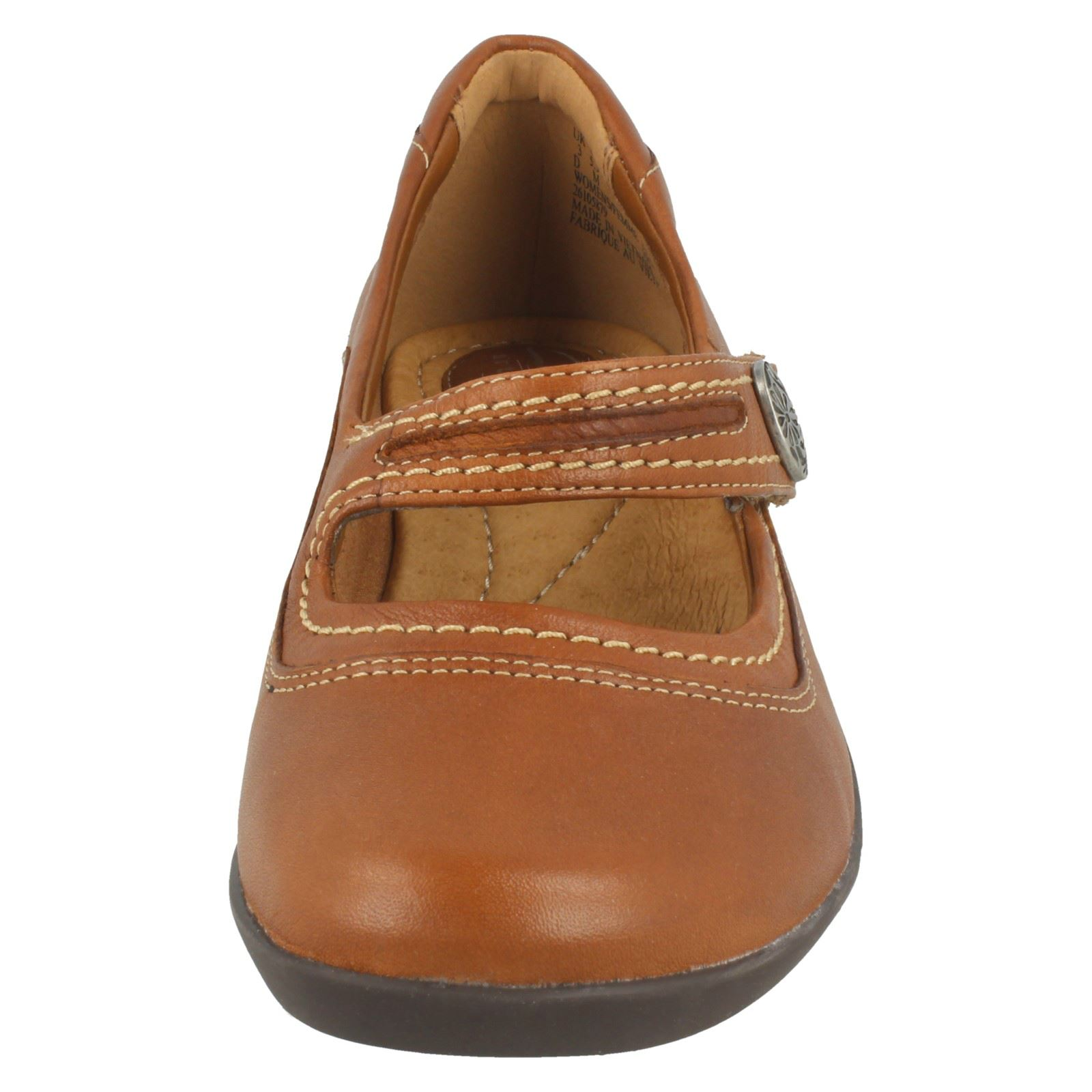 Ladies Ladies Ladies Clarks Comfort Everyday Flats Ordell Becca 9a9e63