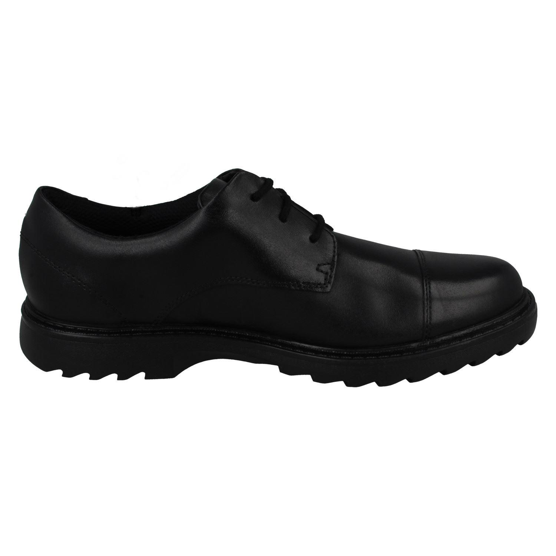 Boys Clarks Formal School Shoes Asher Soar