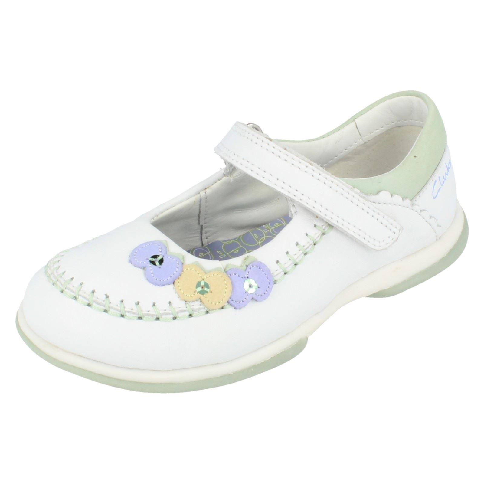 Zapatos Jane shine' blanco 'apple Clarks Niñas Mary a4OttU