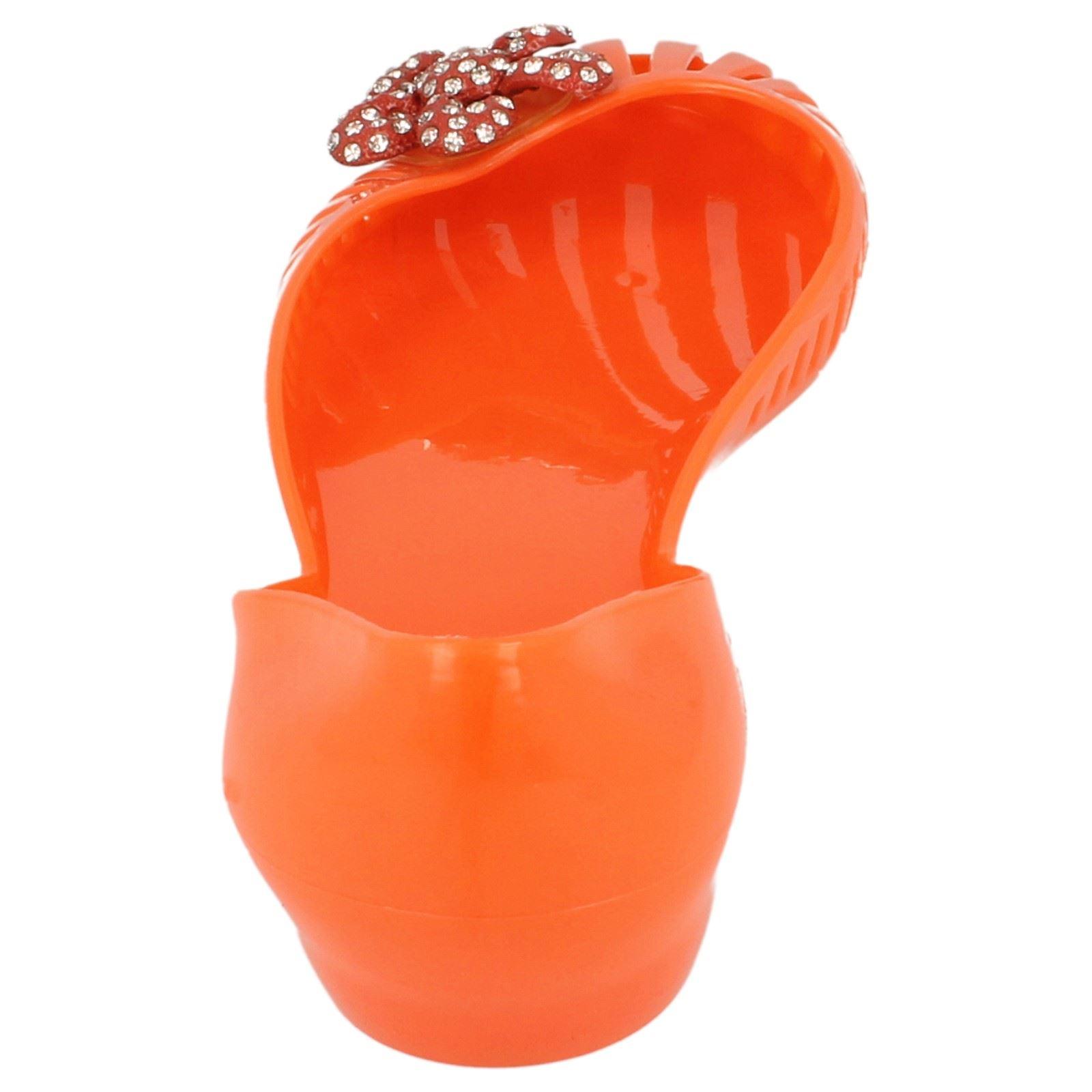 Damas Spot on Resbalón en Zapatos de jalea