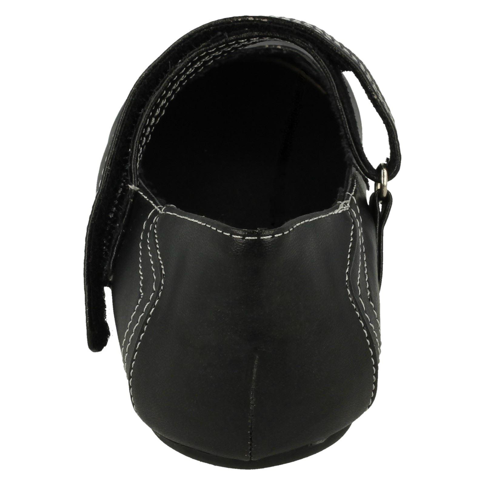 Spot On Girls Casual Ballerina Shoes