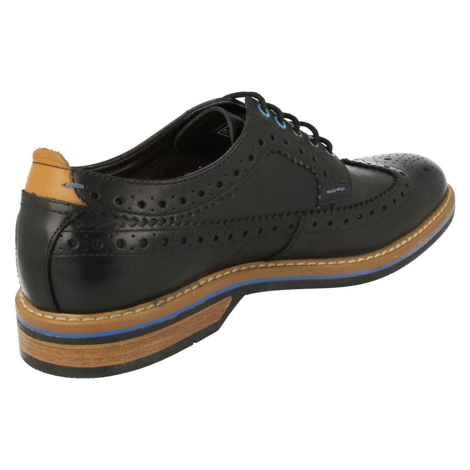 Herren Detailed Clarks Smart Casual Brogue Detailed Herren Schuhes Pitney Limit 6f0533