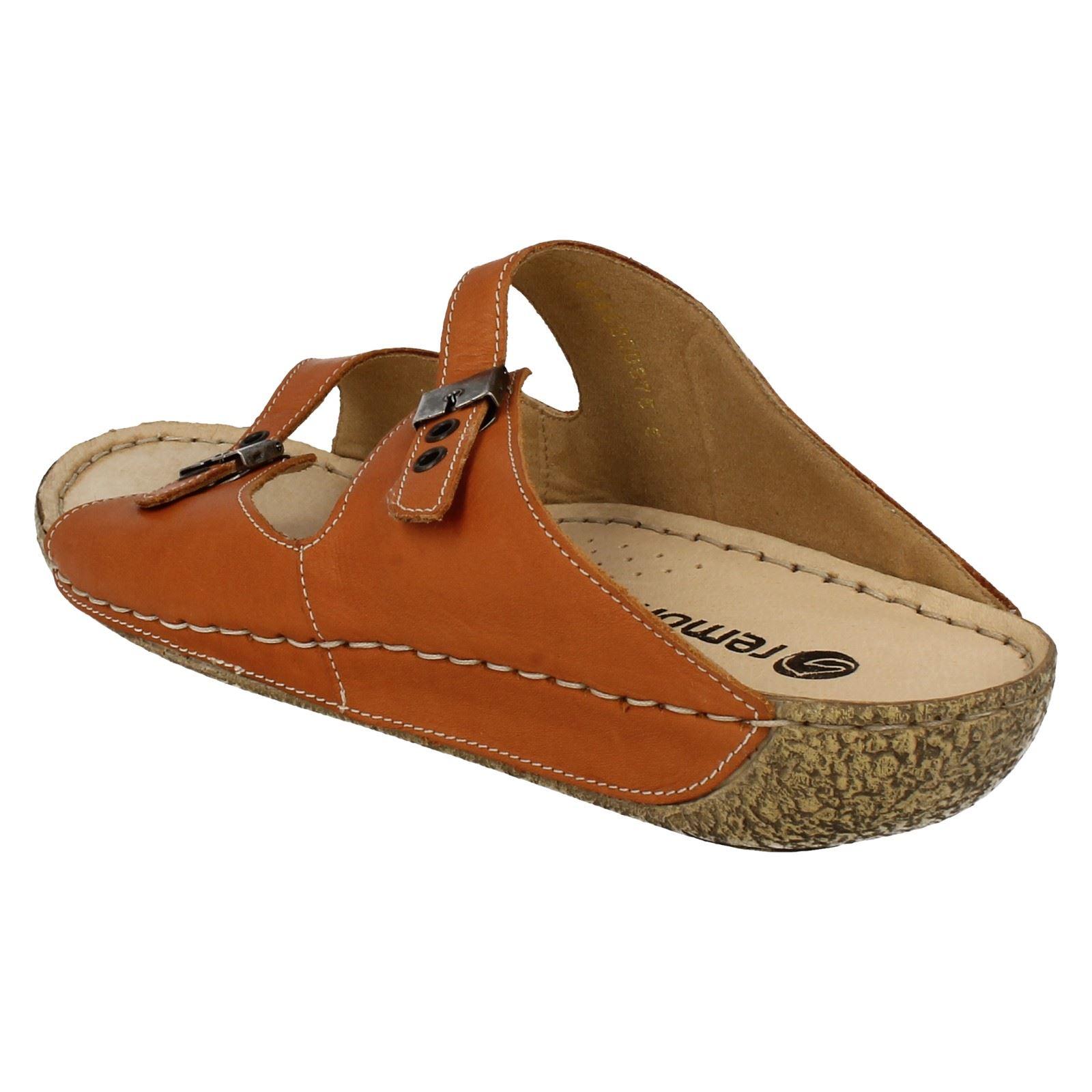 Sandals Summer On Orange D3651 Remonte Ladies Slip BAqwTPvqaf