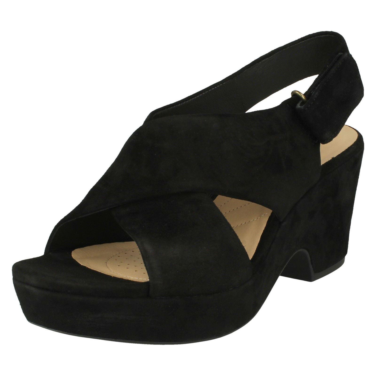 aca504caffa8 Women s Clarks Maritsa Lara Sandals in Black - Size UK 5.5   EU 39 ...