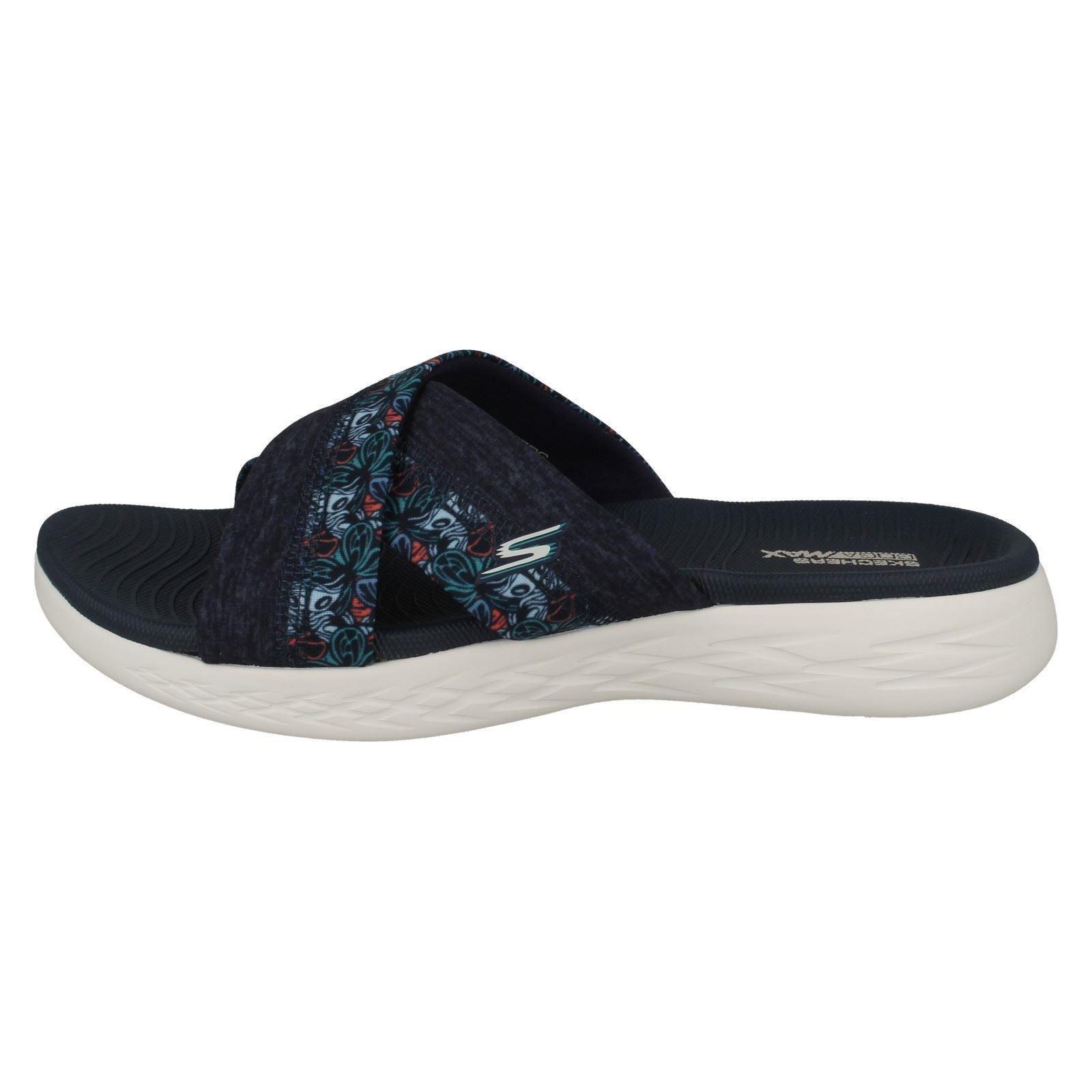 Mule Sandales Skechers bleu 'monarque On Femme Marine 15306' Slip naIFSTR