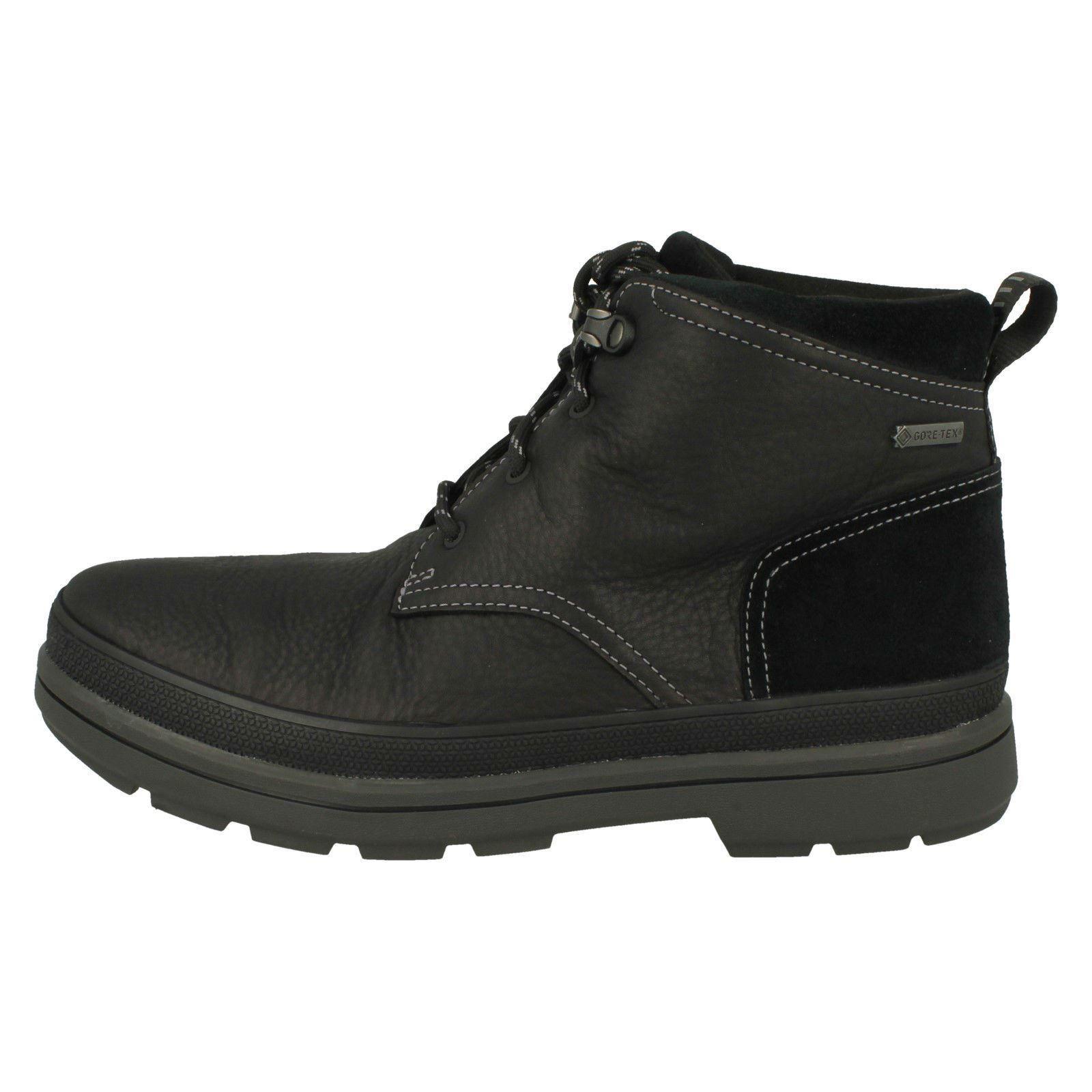 Herren Clarks Gore-Tex Casual Stiefel - - Stiefel Rushway Mid 57f11a