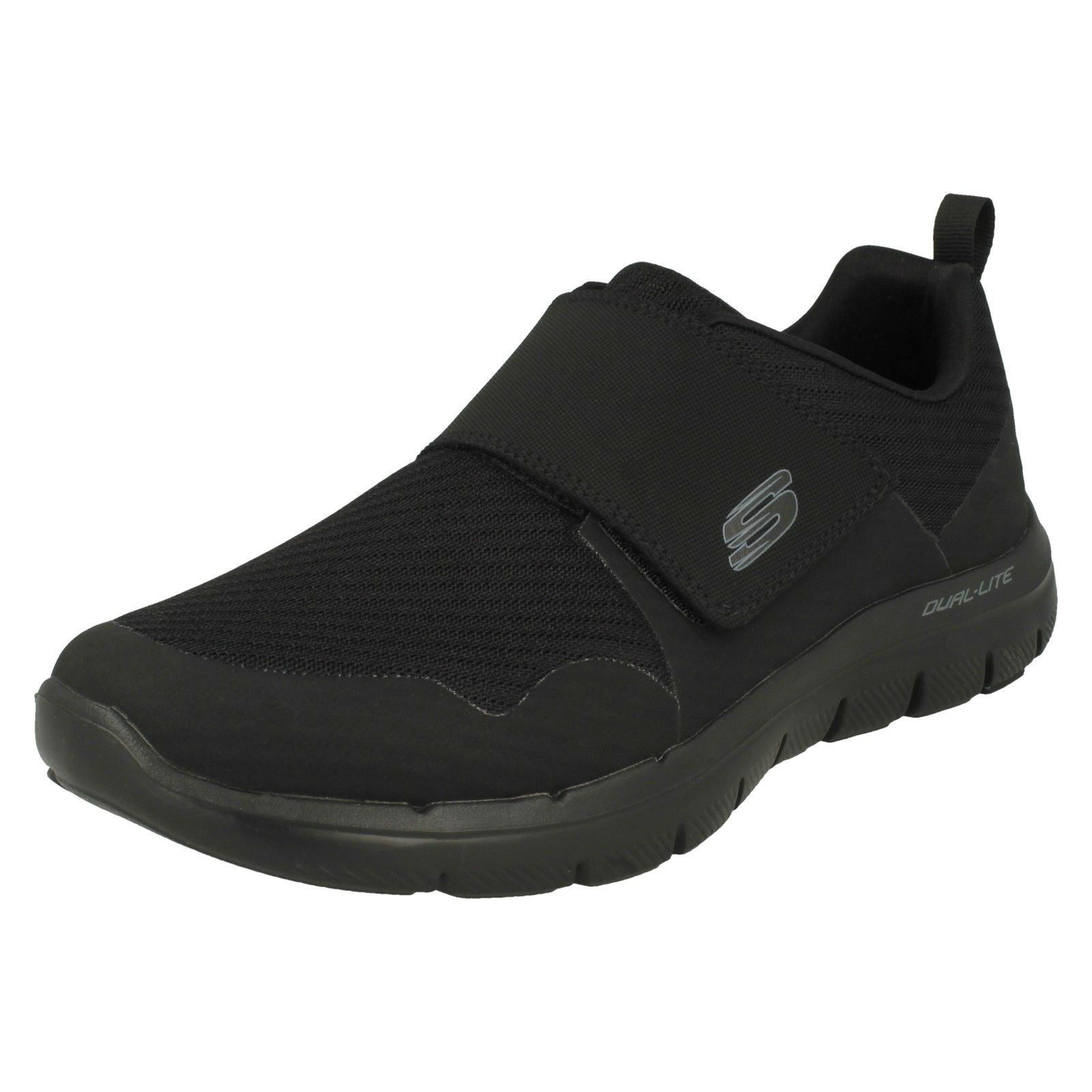 Hombre Zapatillas Advantage Skechers Negro 0 52183 2 deportivas Gurn Flex wH5FRdqF