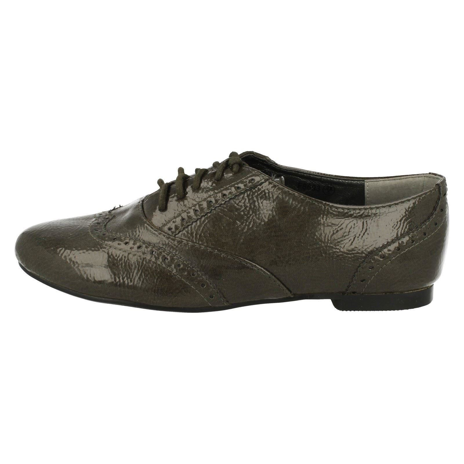 Damas Spot On Brogue Con Cordones, F8693