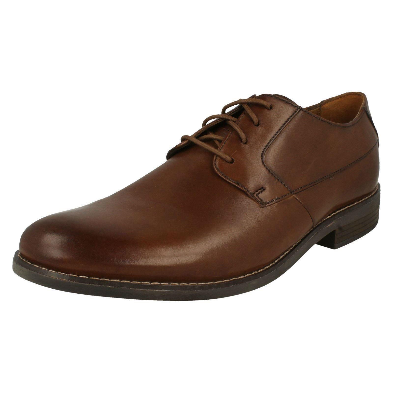 Herren Becken Clarks Becken Herren Plain Smart Schuhes 35f6d6