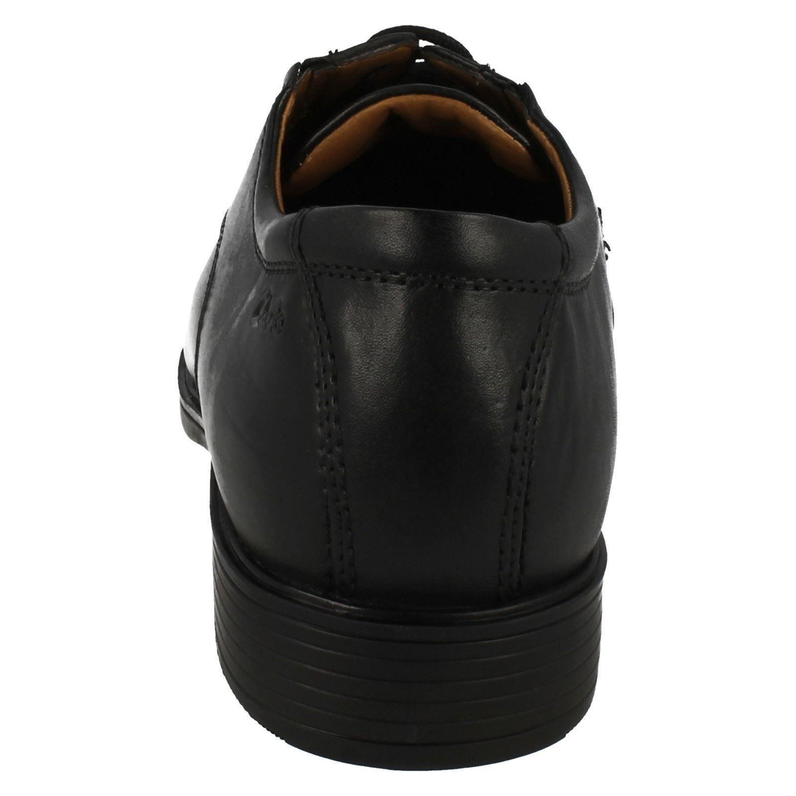 Zapatos Hombre Gorra Formal Con Clarks Tilden Estilo Cordones AF5npZqBF