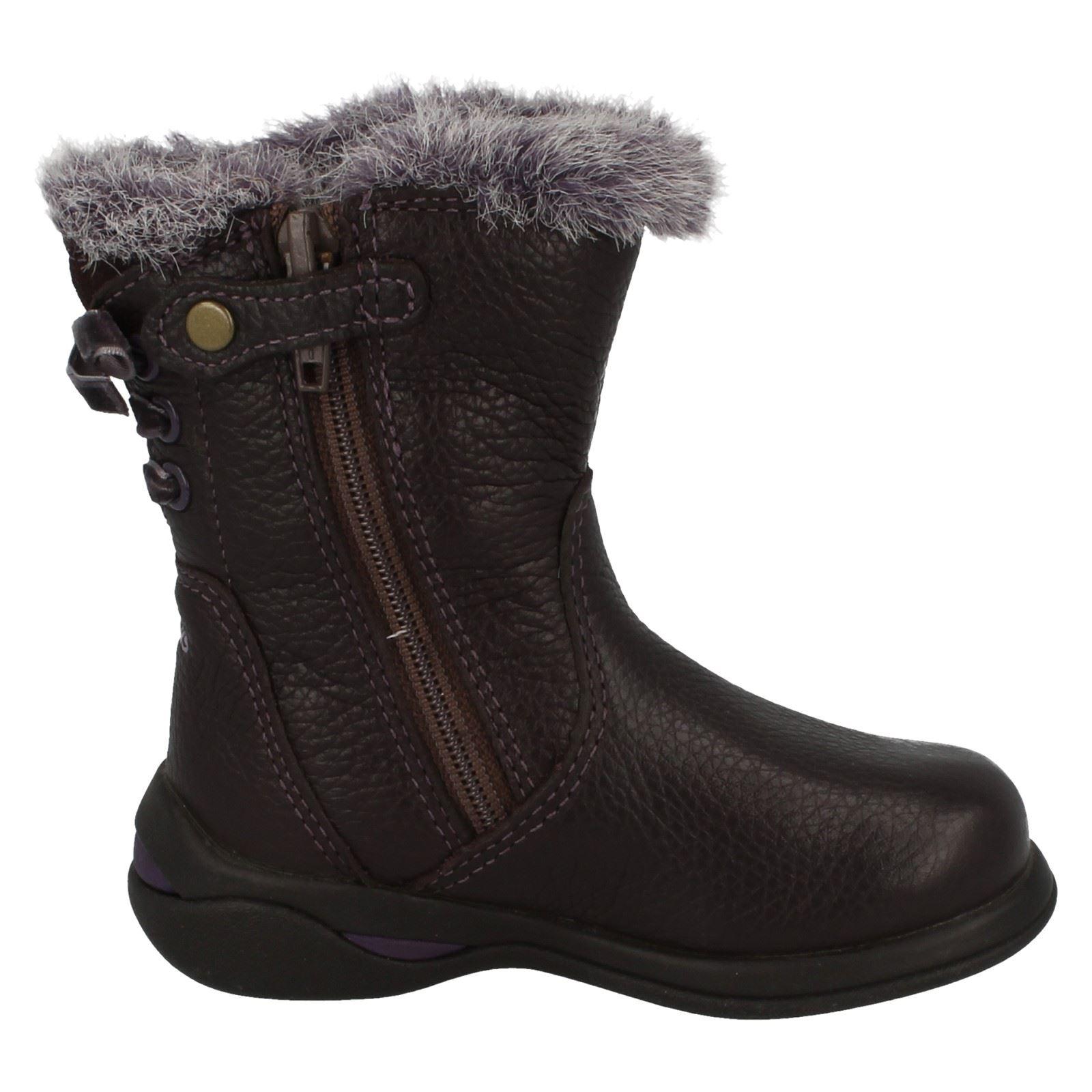 Clarks Boots Ciruela Everyday Girls Lace púrpura Gtx Ice zqw7vAz