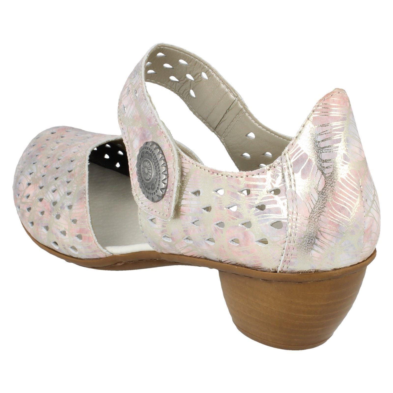 Shoes Multi Ladies amp; 43758 Rieker Hook Loop xxqX4zA