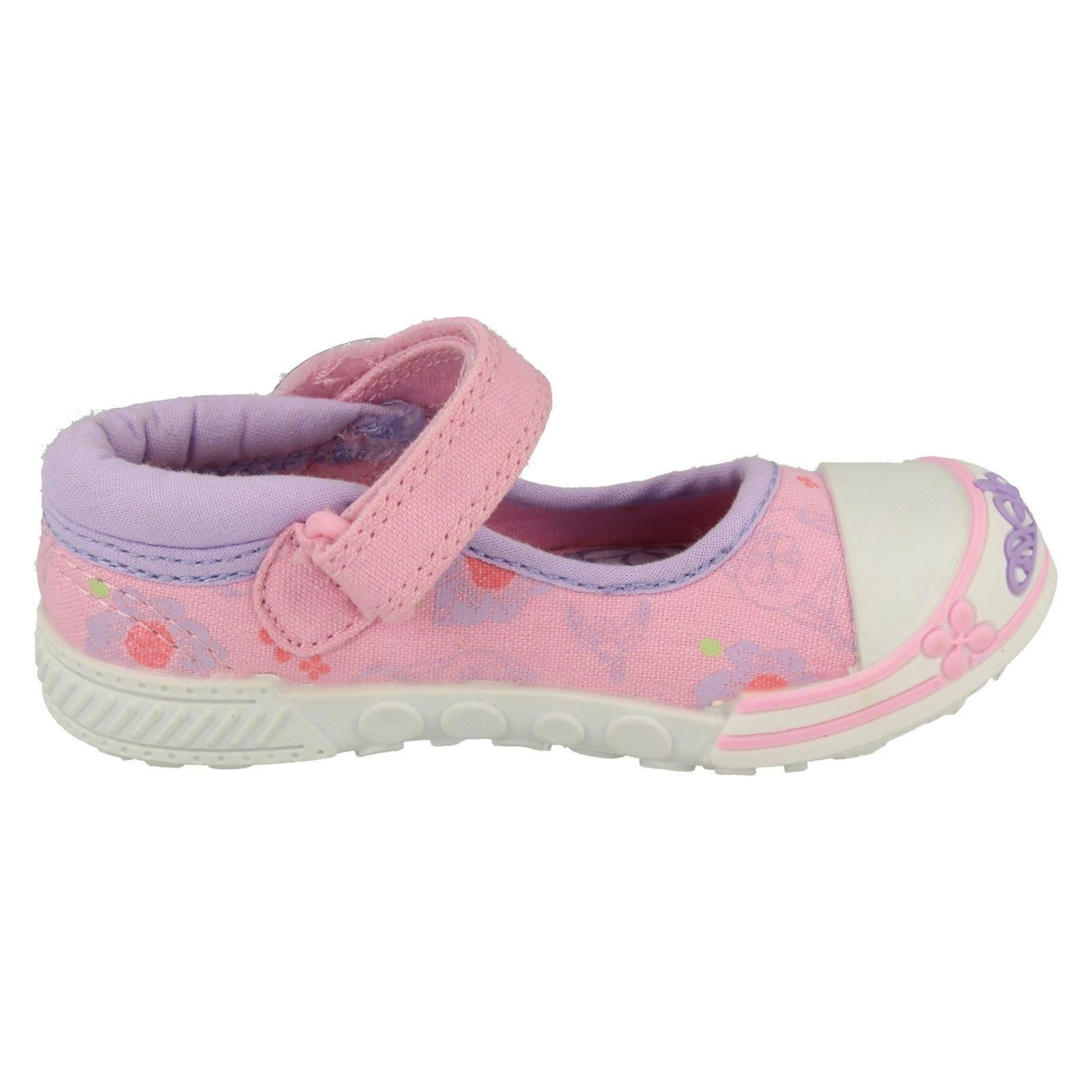 Chicas Disney Sofia the First Mary Jane Hook & Loop Zapatos De Lona-Sofía sueños