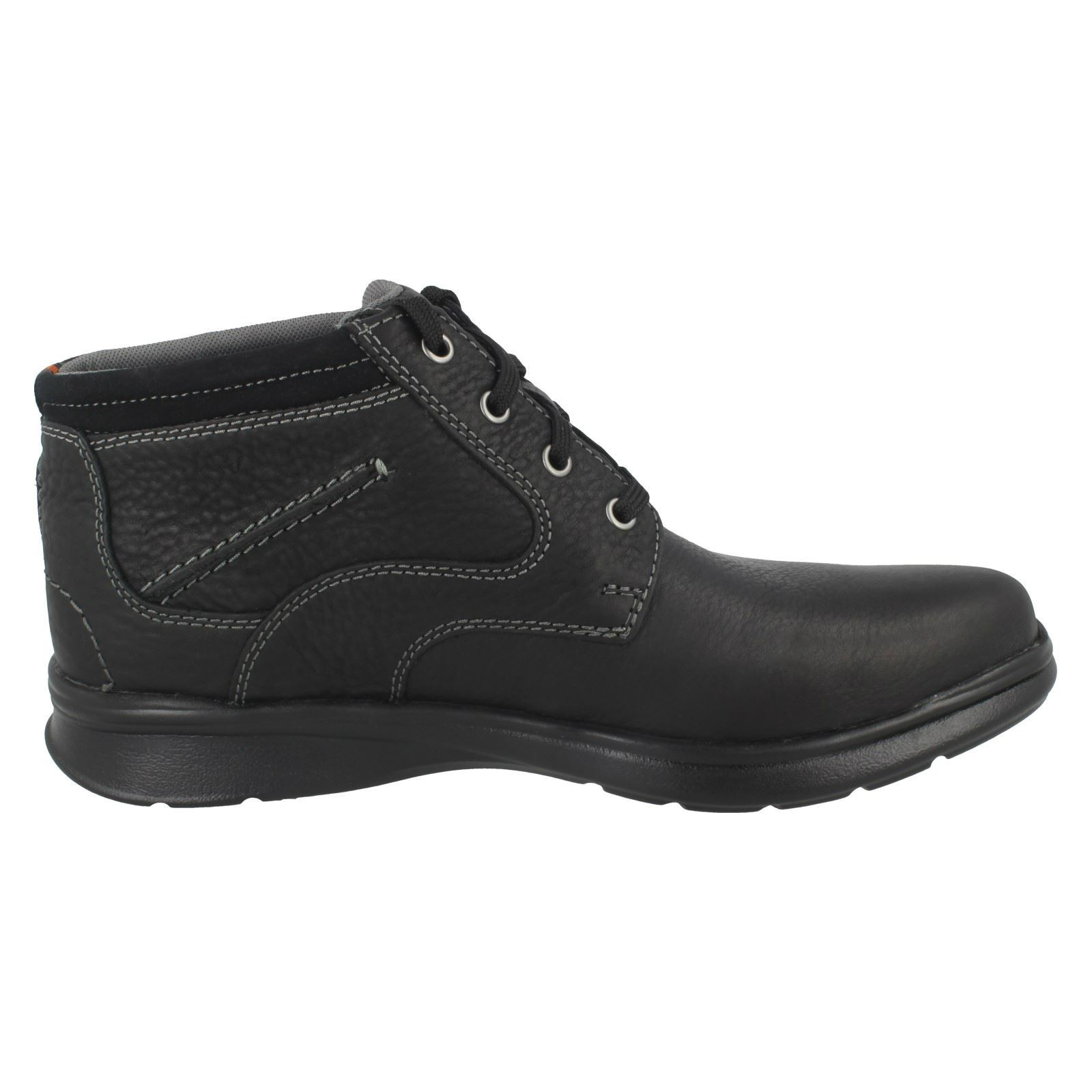 Mens-Clarks-Cotrell-Rise-Casual-Lace-Up-Ankle-Boots thumbnail 7