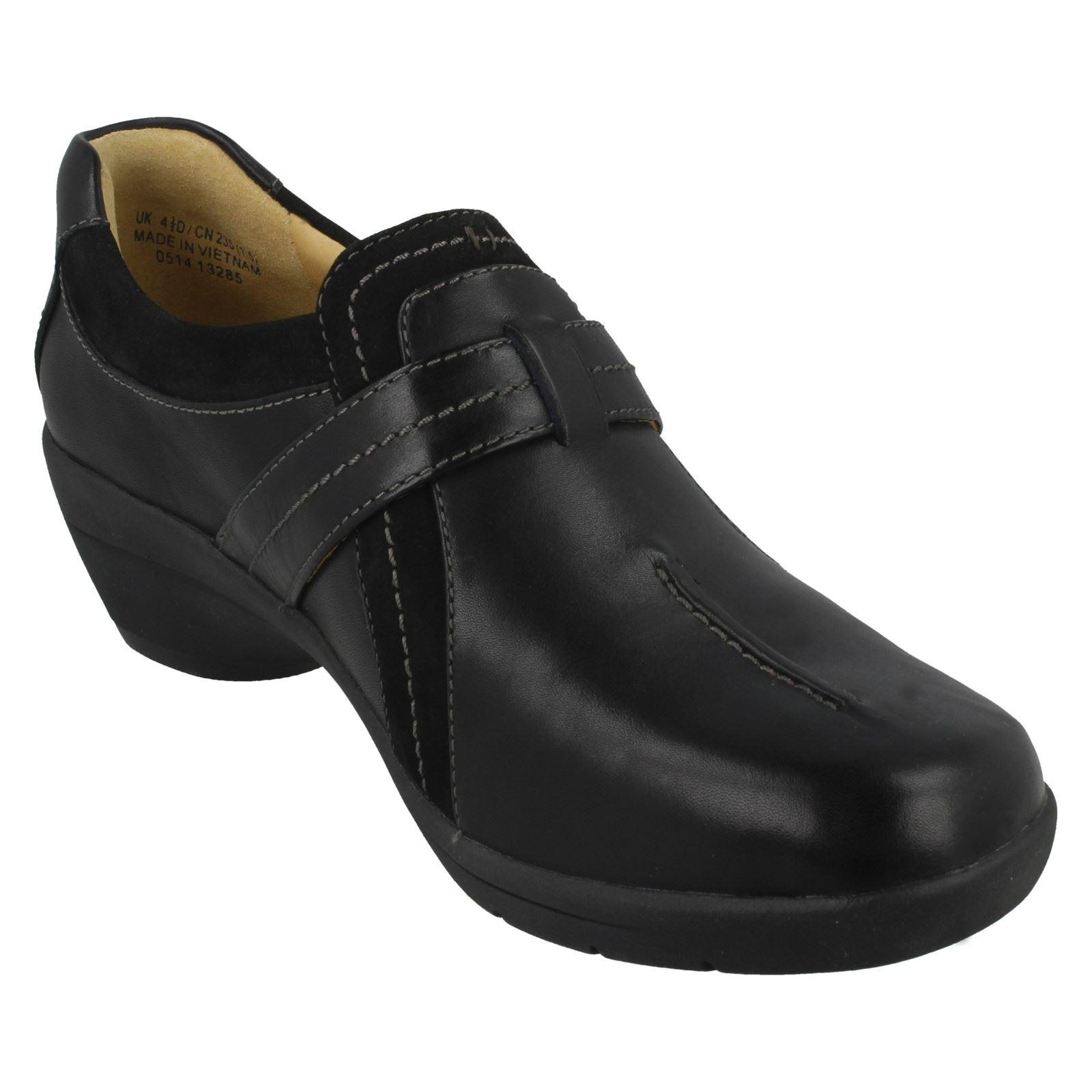 Ladies Ladies Ladies Clarks Block Heeled shoes 'Un Faina' 96b20b