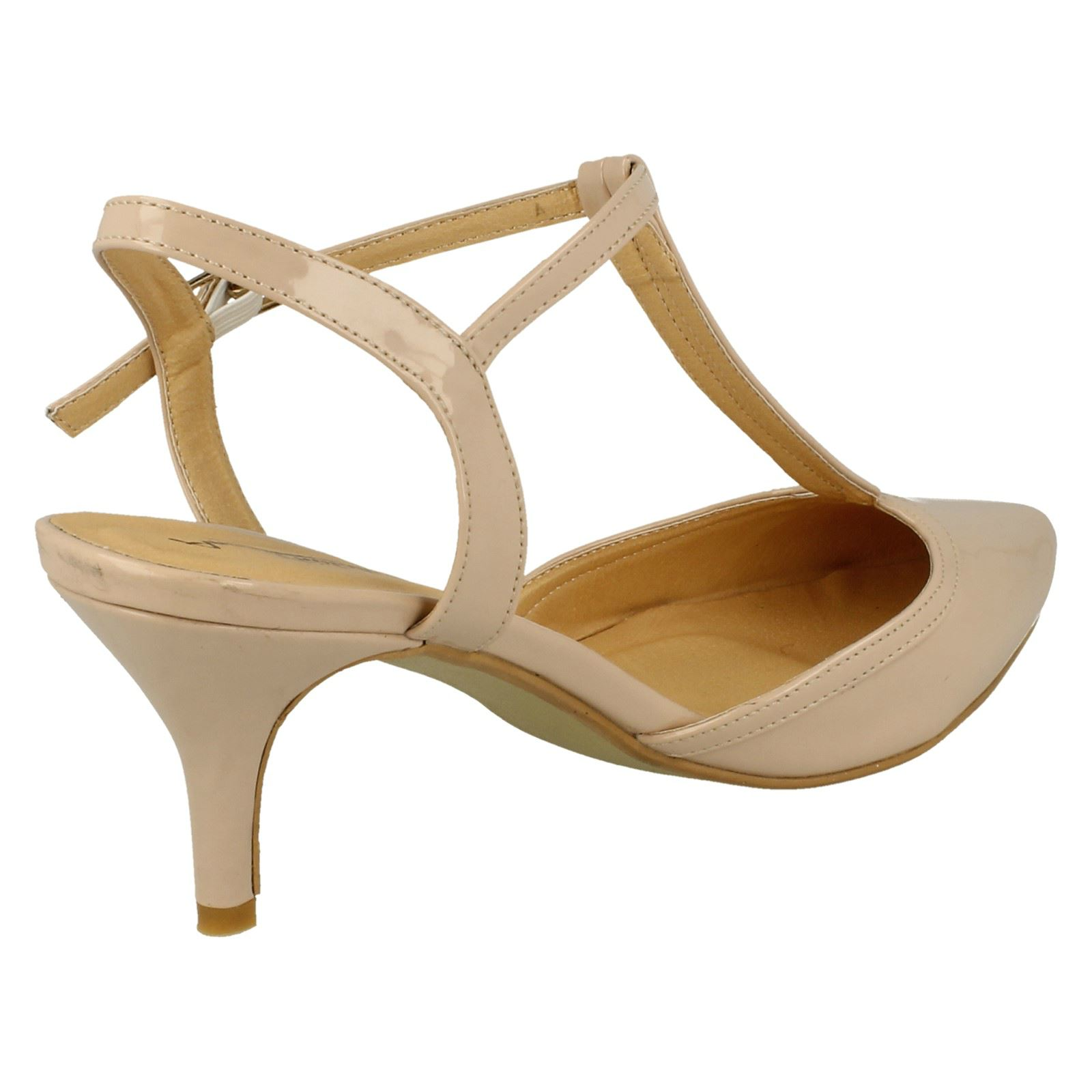 Anne-Michelle-Ladies-Mid-Heel-T-Bar-Court-Shoe thumbnail 24