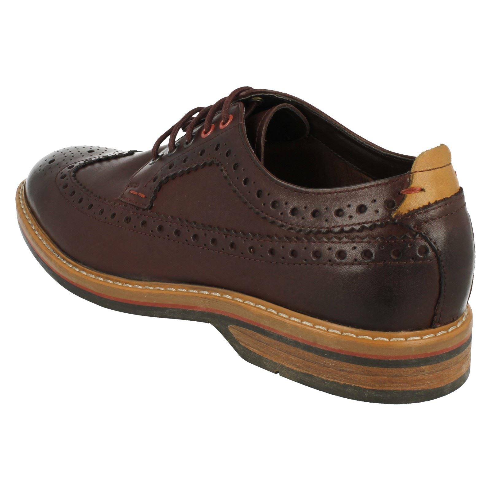 brogue Calzado casual hombre estilo Limit para Pitney Chestnut Clarks marrón elegante wxaYYq