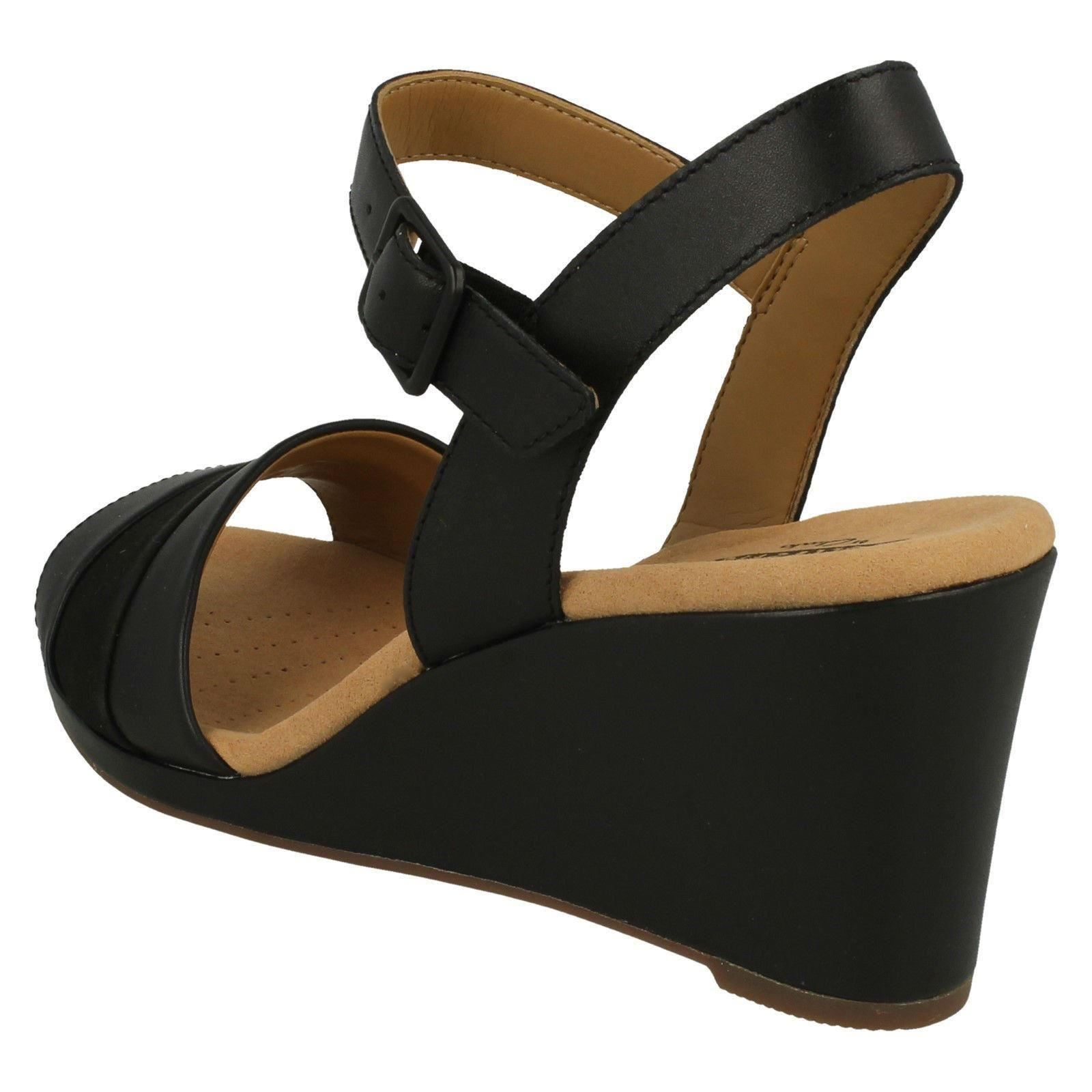 Damenschuhe Clarks Wedged Heel Sandales Sandales Sandales Lafley Aletha b23dd4
