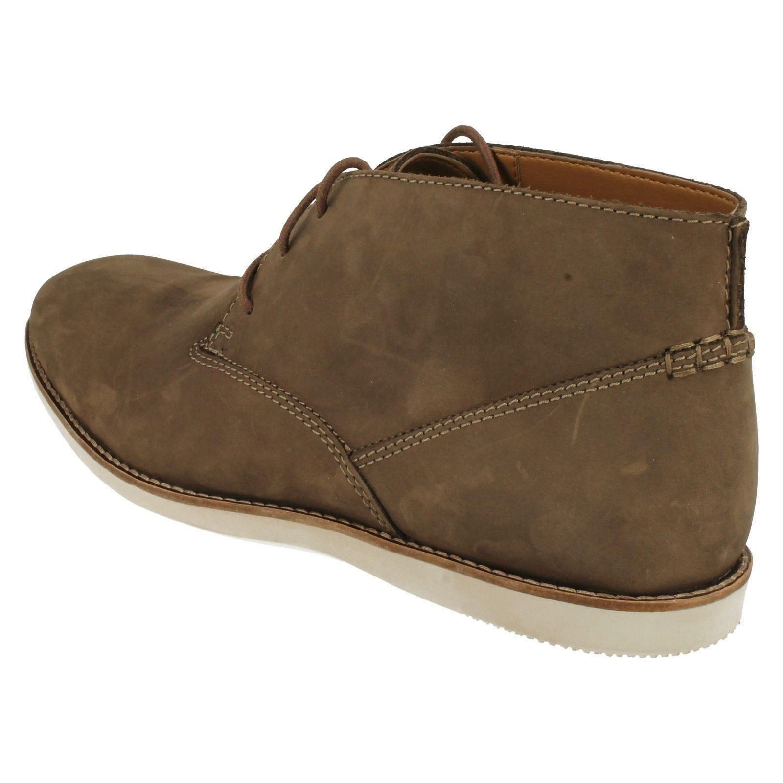 Details about Mens Clarks Ankle Boots Franson Top