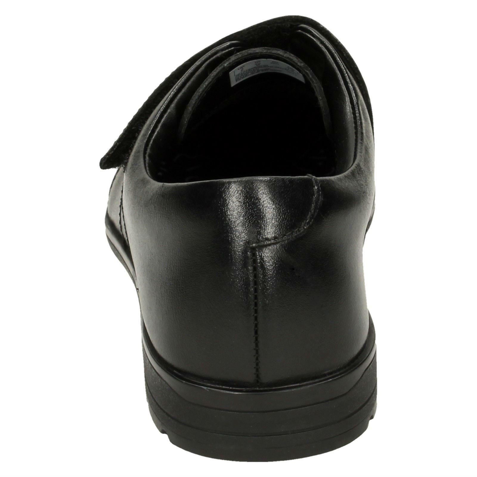 Niños Clarks De Willis Colegio Time Elegante Zapatos Acampanado rBqwrUx