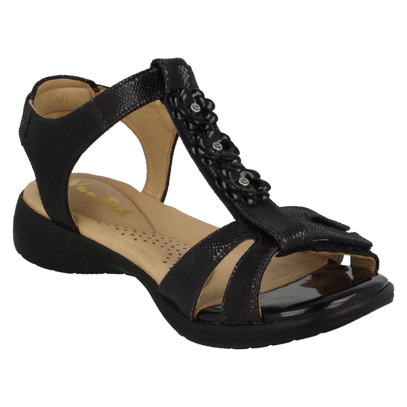 Ladies Van Dal Fiore Fiore Fiore Dettaglio Sandali Cinturino Morbido   A Basso Costo  c4bfb4