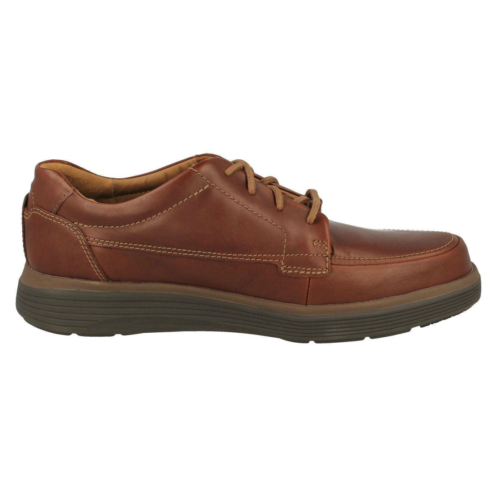 Uomo Clarks Lace Up Fastening 'Un Formal Leder Schuhes - 'Un Fastening Abode Ease' 0176c2