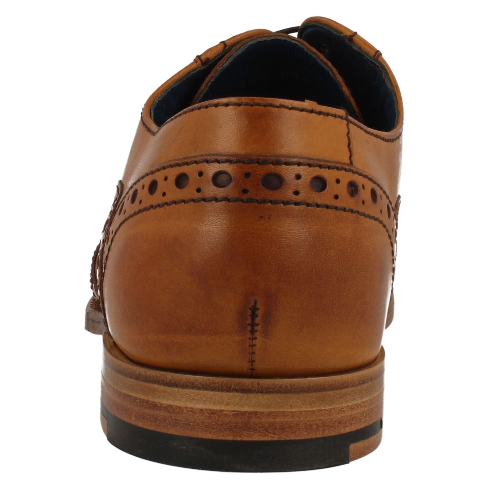 Barker Grant Grant Grant Cedar Calf Leder Lace Up Brogue Schuhes b15bae
