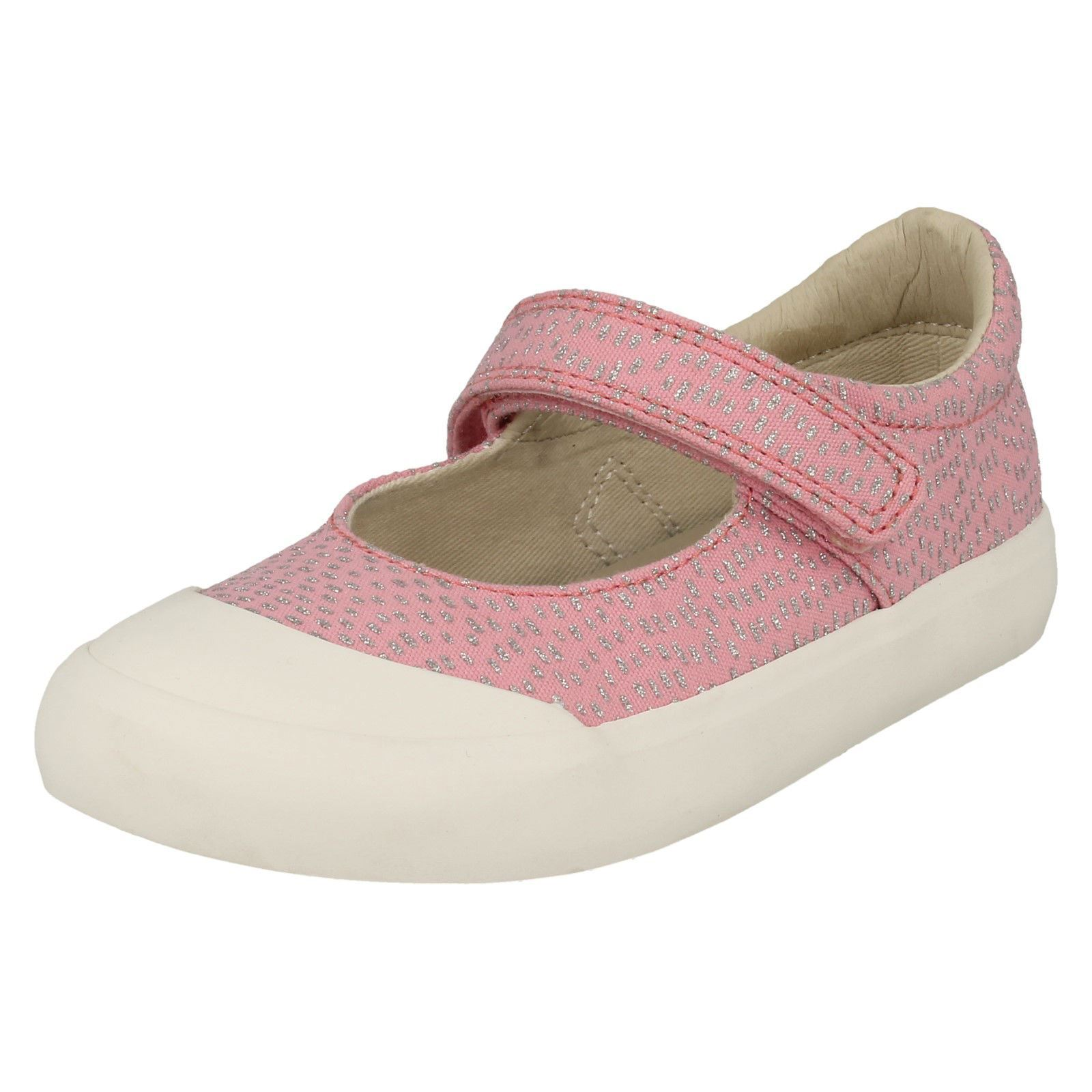 Details about  /Girls Clarks Casual Flats Comic Buzz