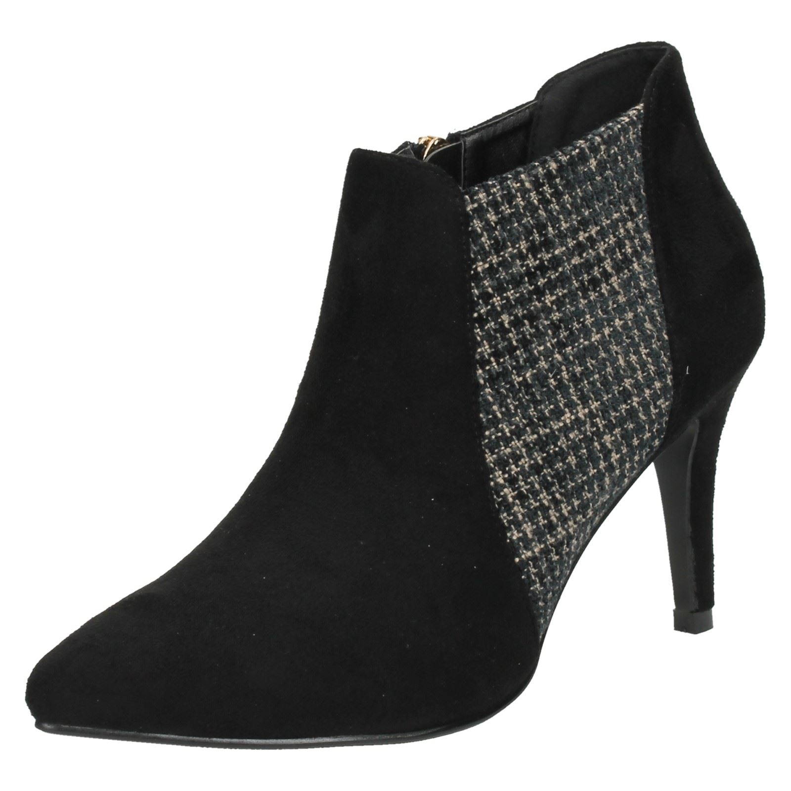 Ladies Anne Michelle Zip Ankle Boots