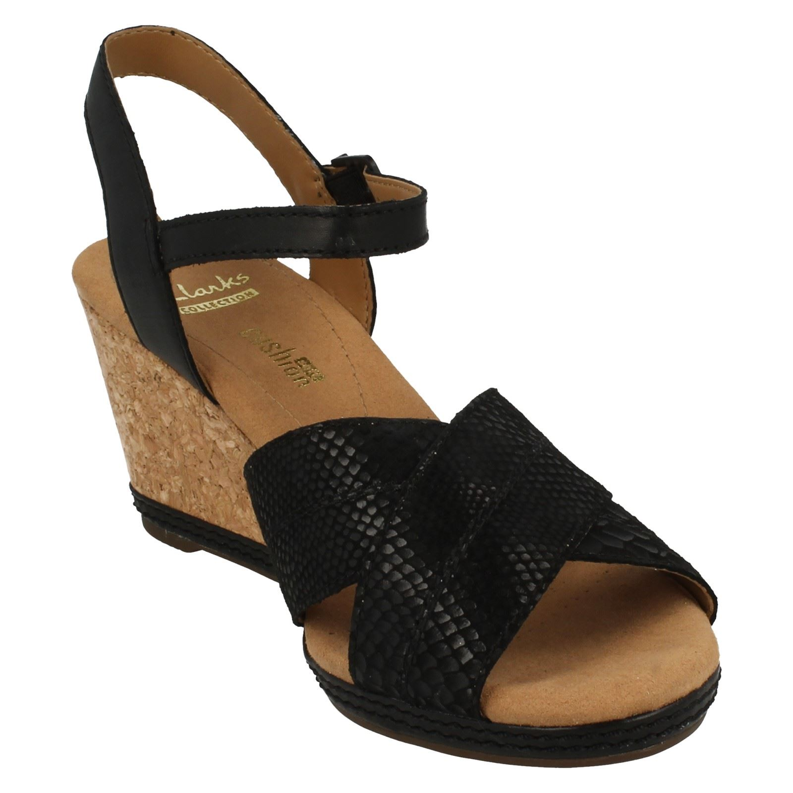8f6ab0cce43 Clarks-Ladies-Open-Toe-Wedge-Sandals-Helio-Latitude thumbnail