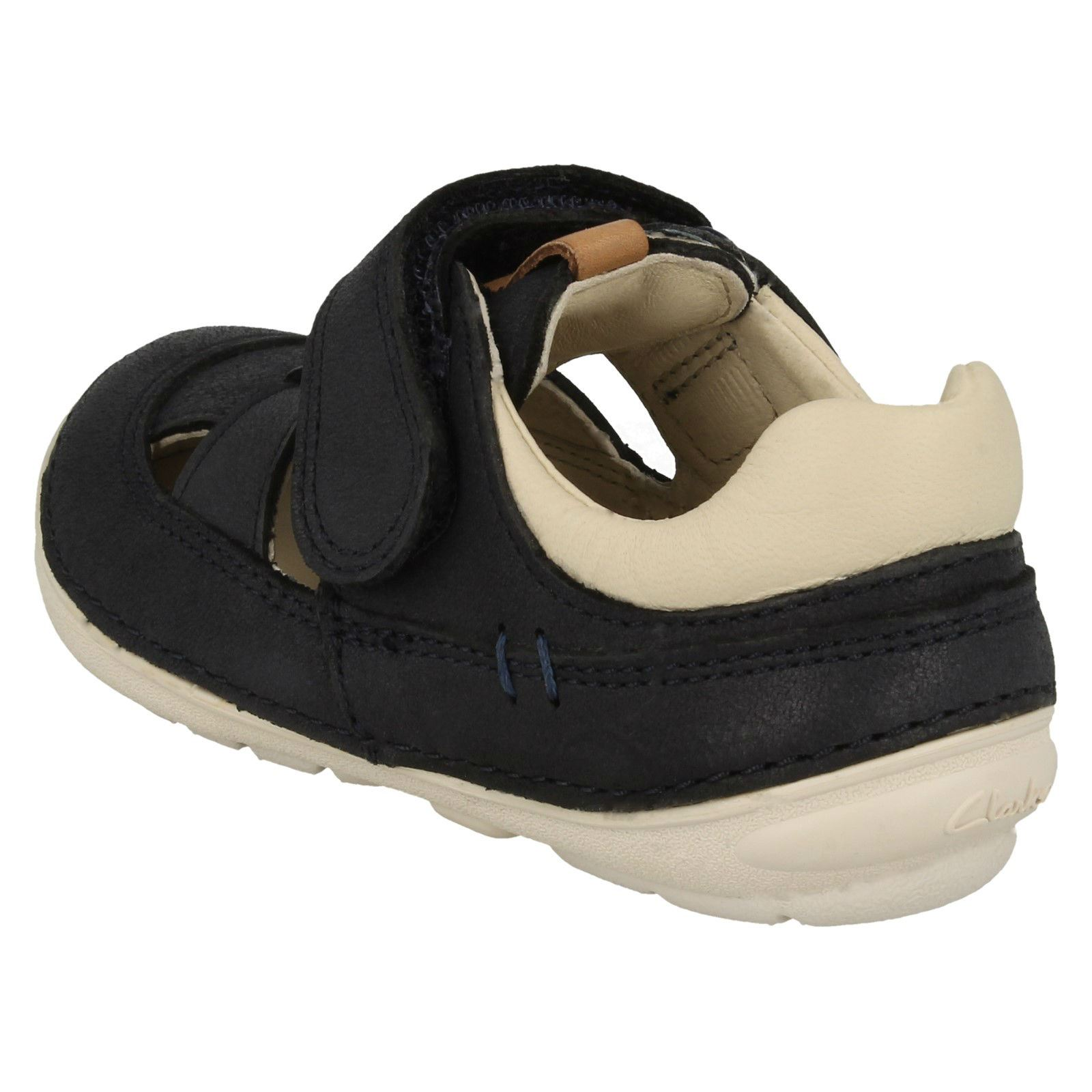 Clarks Boys Casual Trainer Sandals Softly Ash
