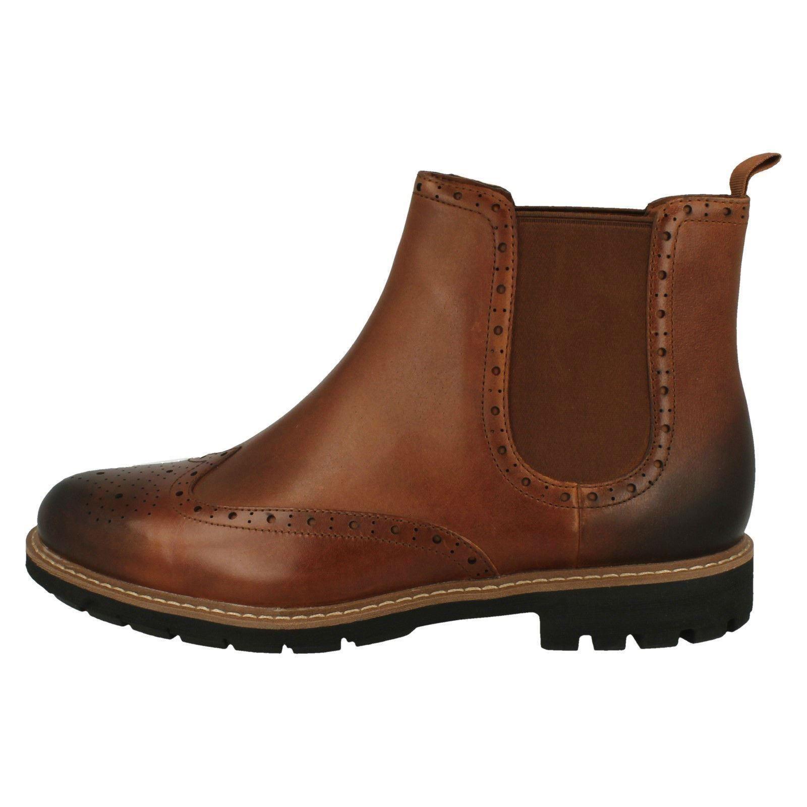 Elegante Gusset Top' Chelsea Boots marrone 'batcombe Tan Dark Mens Clarks gqwPx5