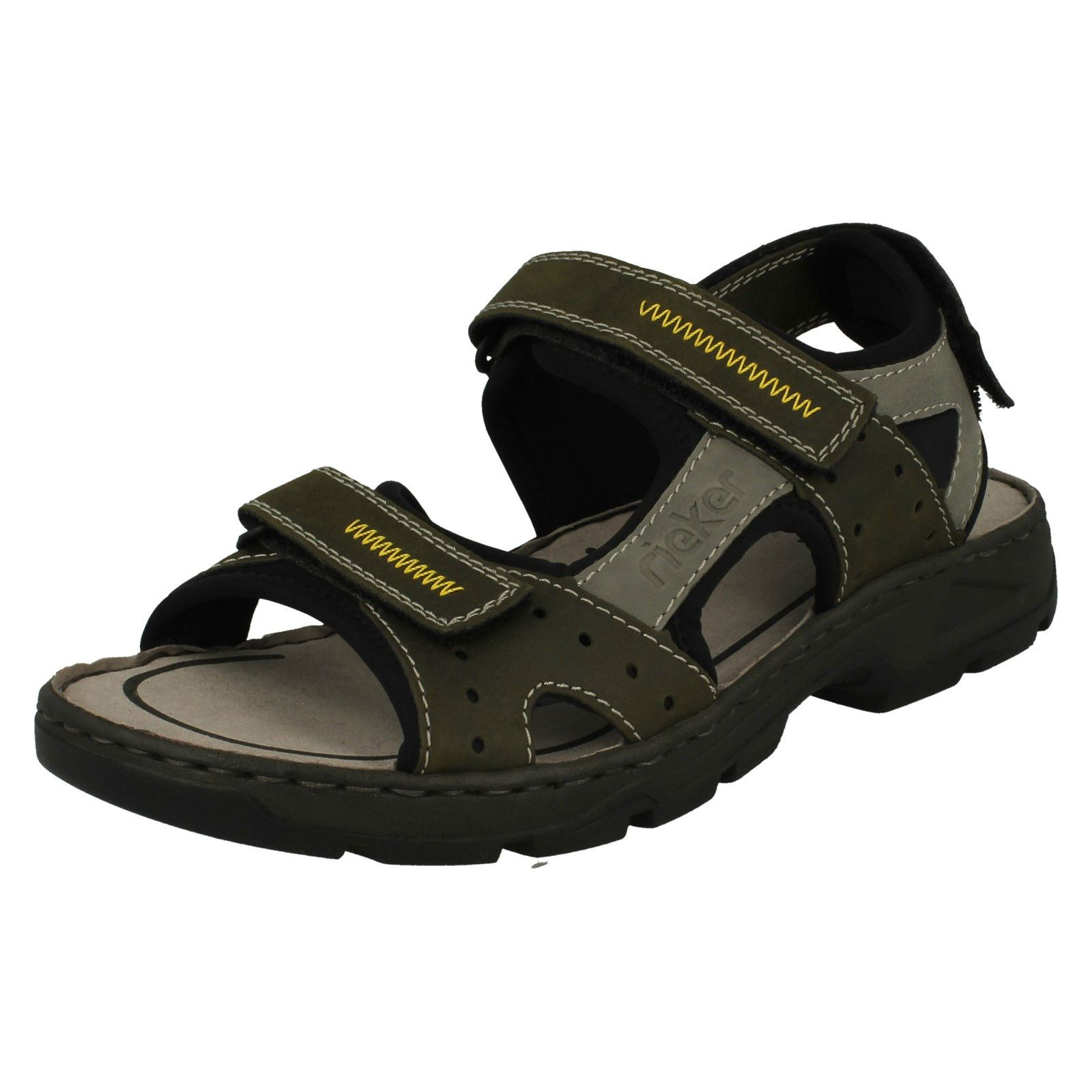 Mens Mens Mens Rieker Casual Strapped Sandals 26157 fbbd8f