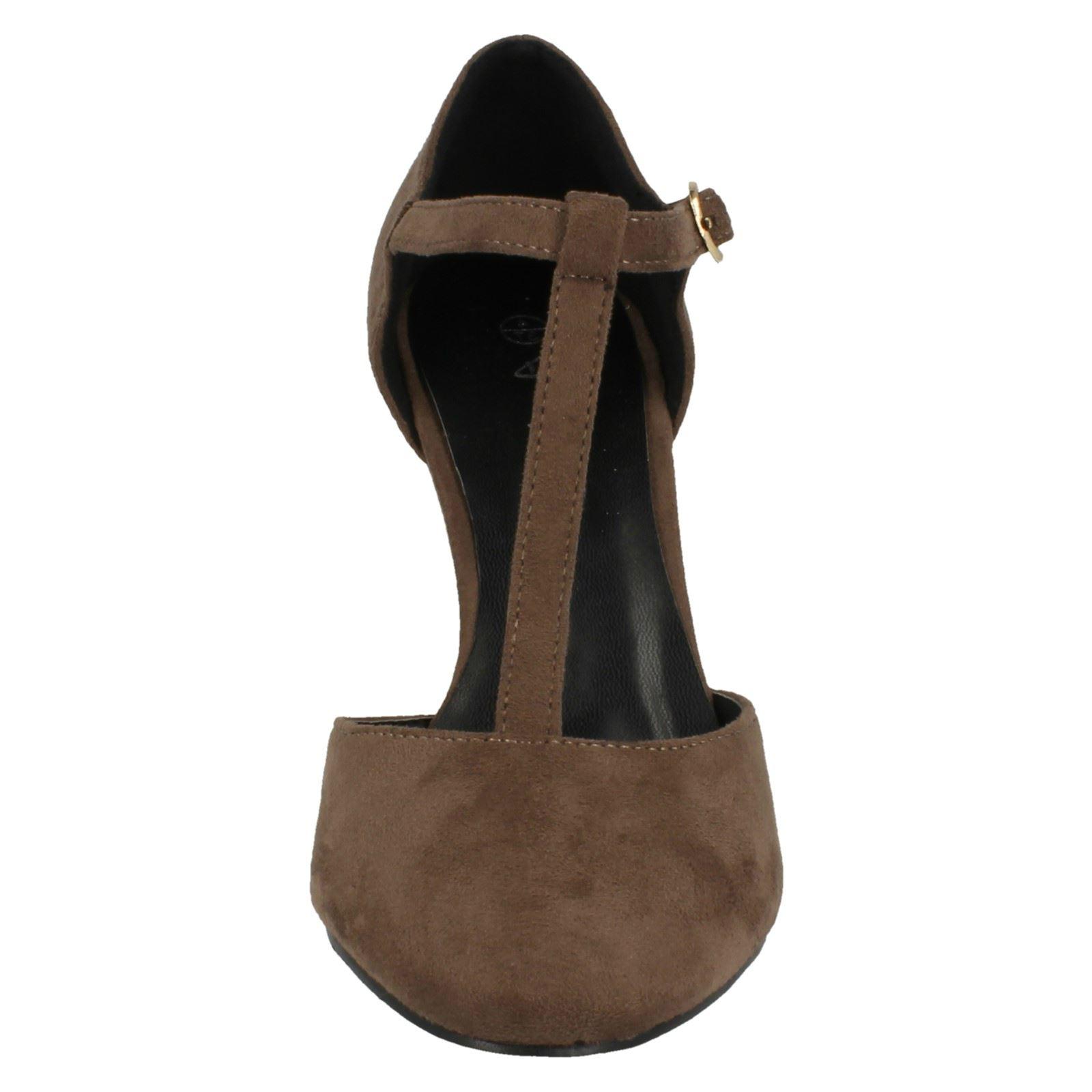 Ladies-Anne-Michelle-T-Bar-Smart-Shoes thumbnail 45