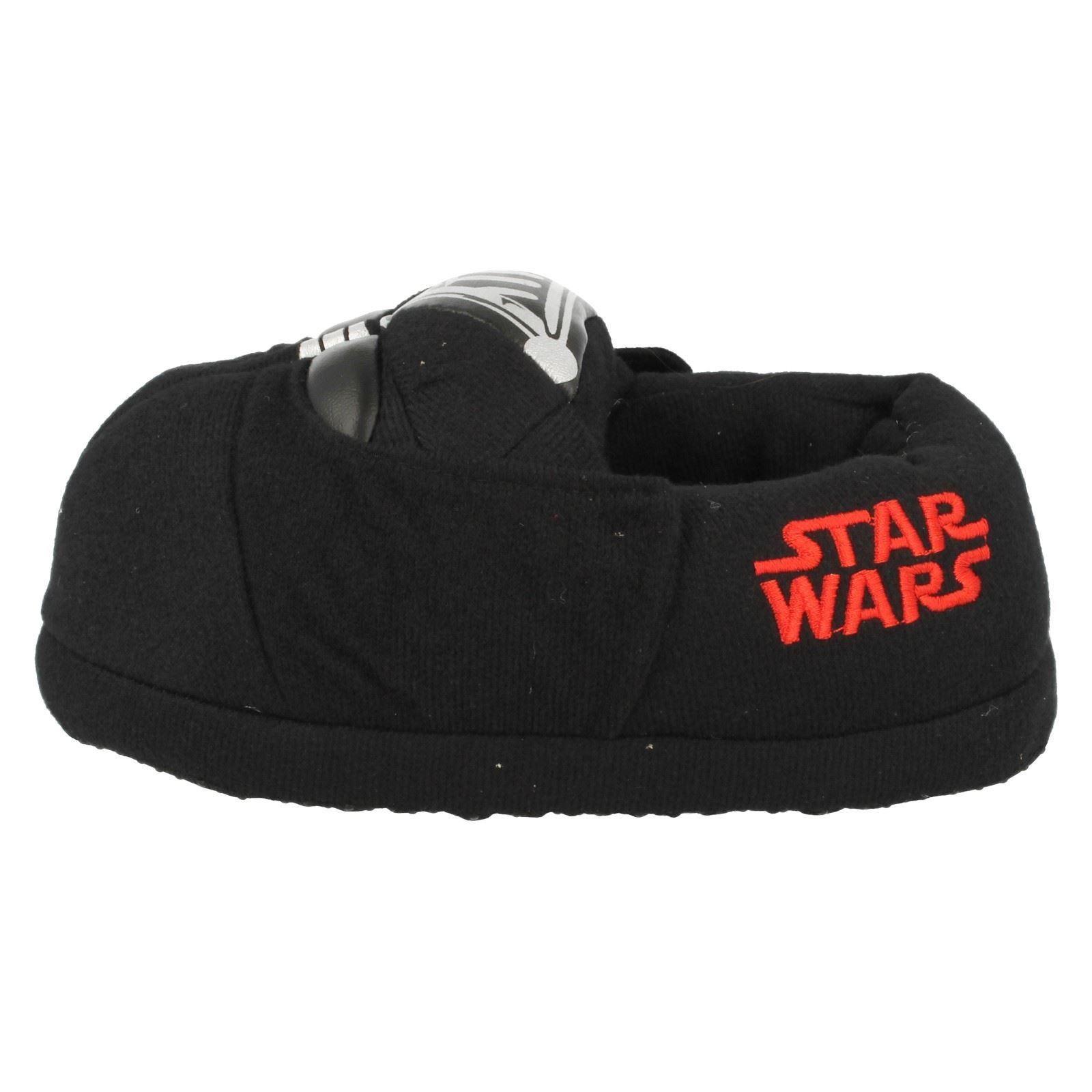 Chicos carácter Zapatillas De Darth Vader Star Wars